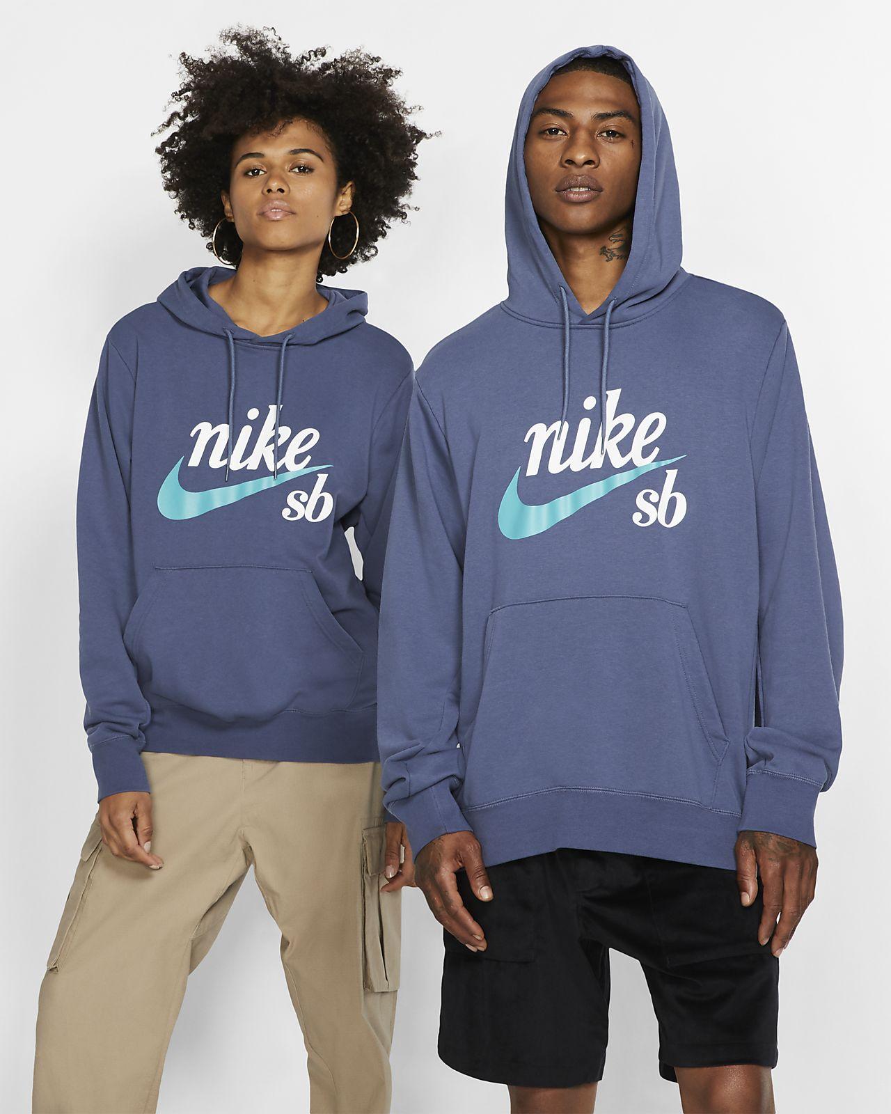 เสื้อสเก็ตบอร์ดมีฮู้ด Nike SB Icon