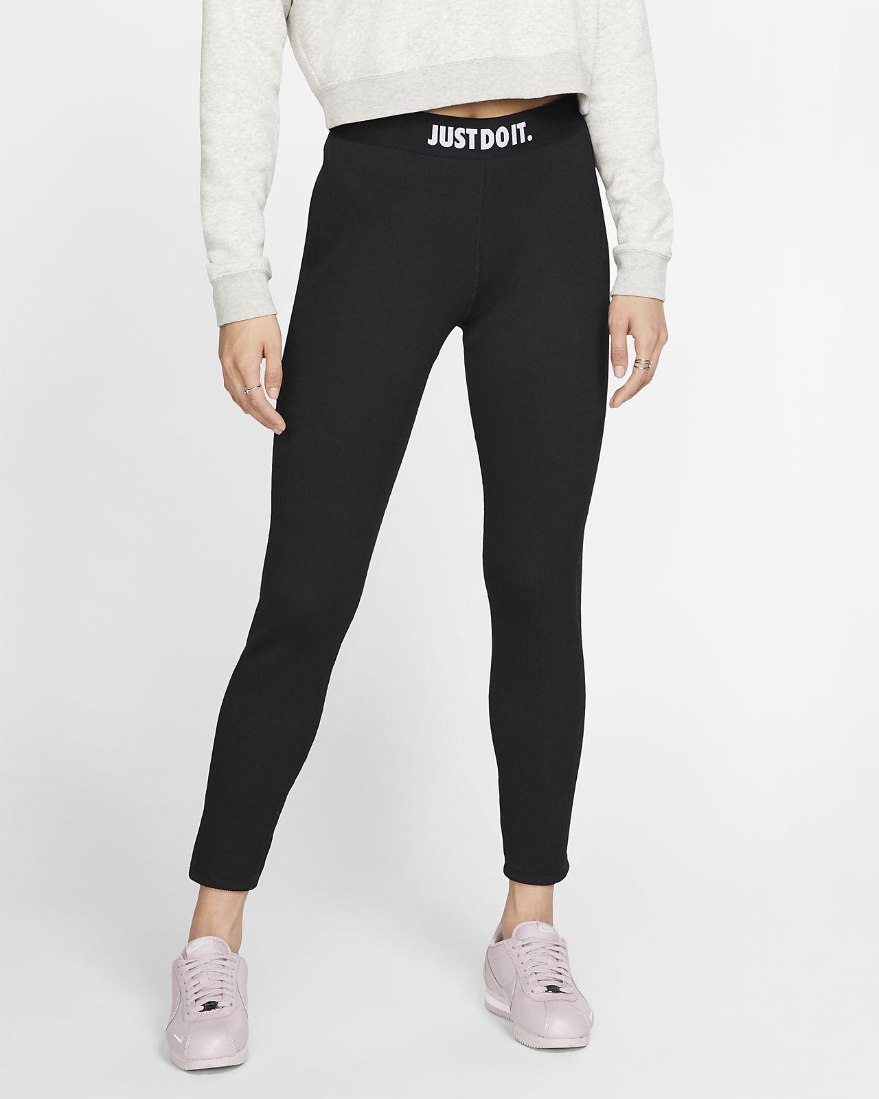 Leggings JDI de tela rib para mujer Nike Sportswear