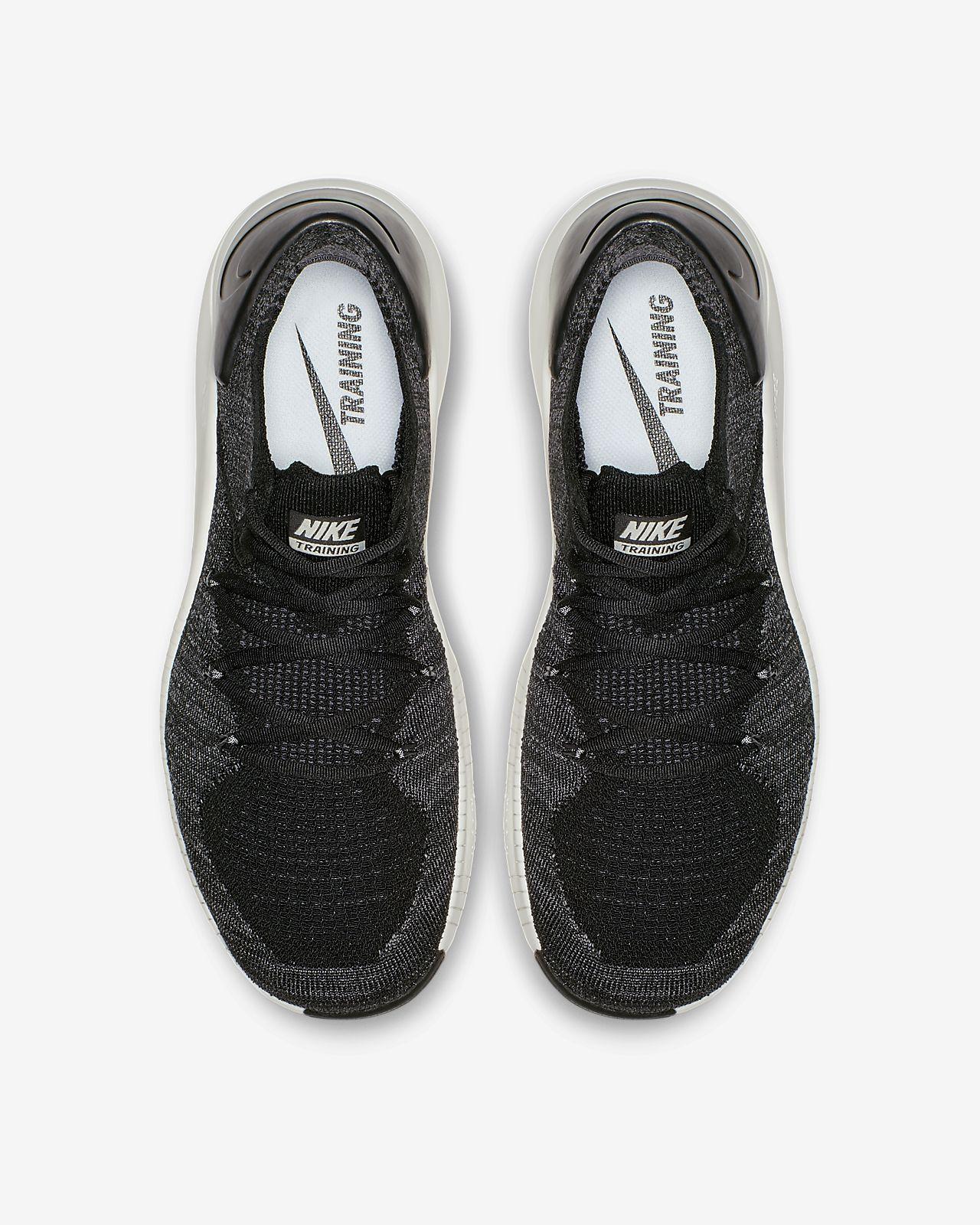 Tenis Running Negro Blanco Nike Free Tr Flyknit 3