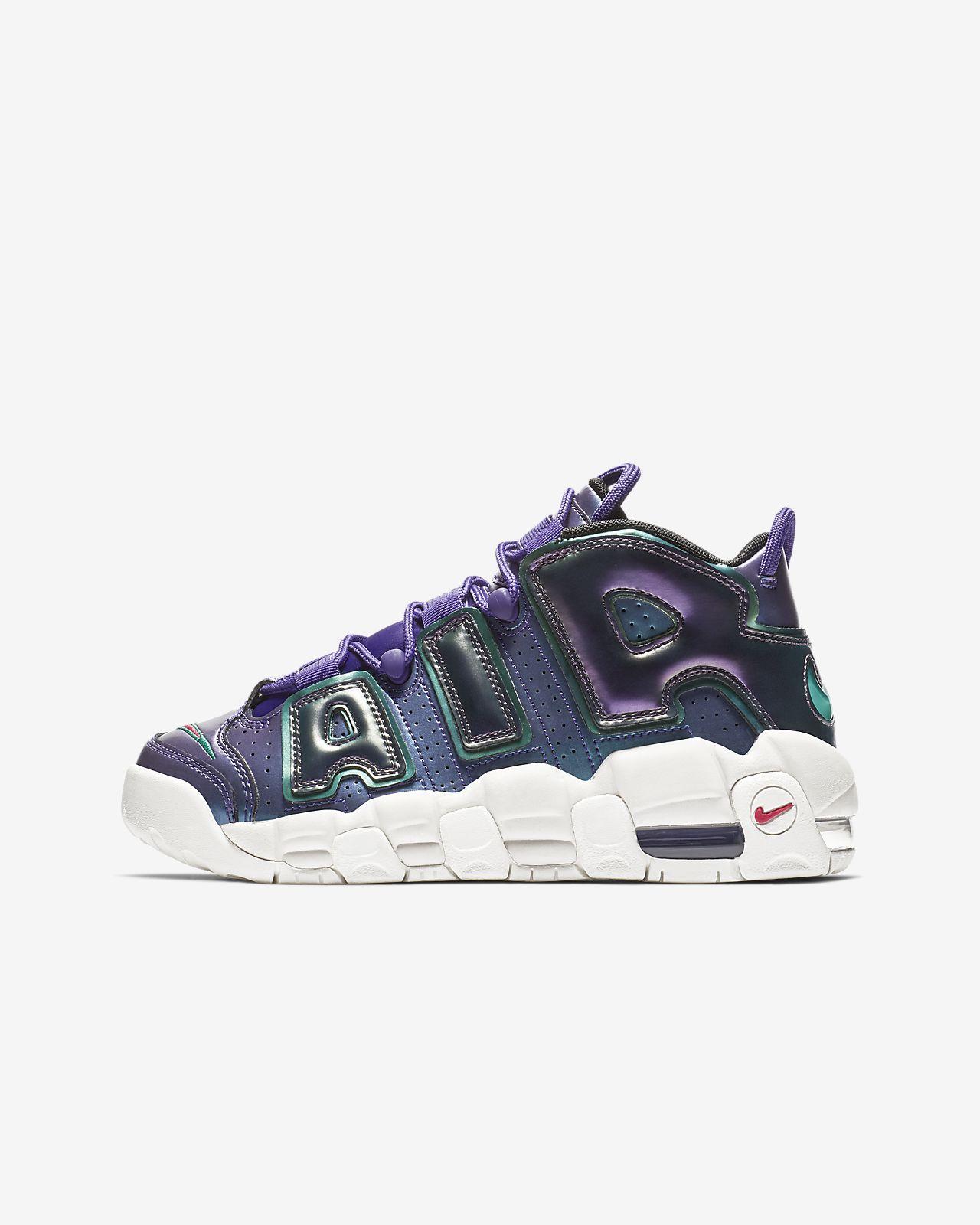 Calzado para niños talla grande Nike Air More Uptempo SE