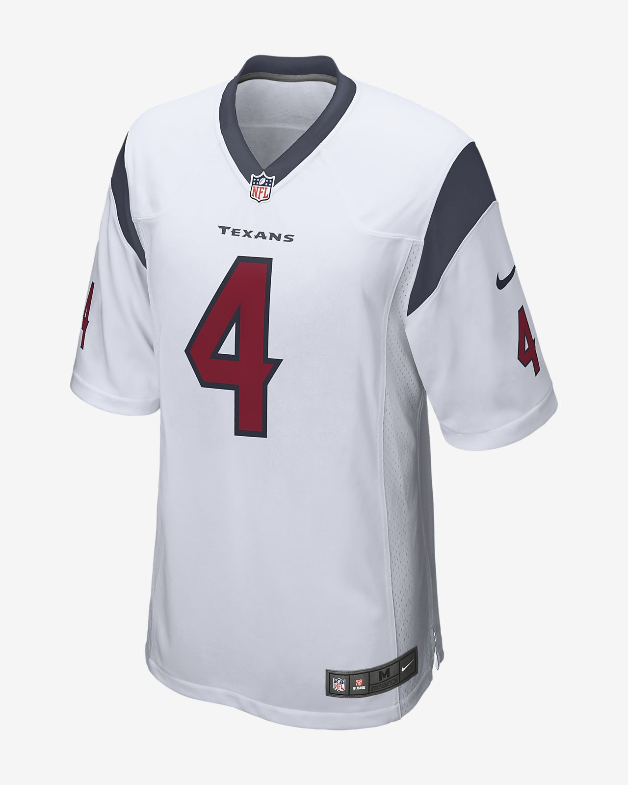 5961211eb772 NFL Houston Texans Game (Deshaun Watson) Men s Football Jersey. Nike.com