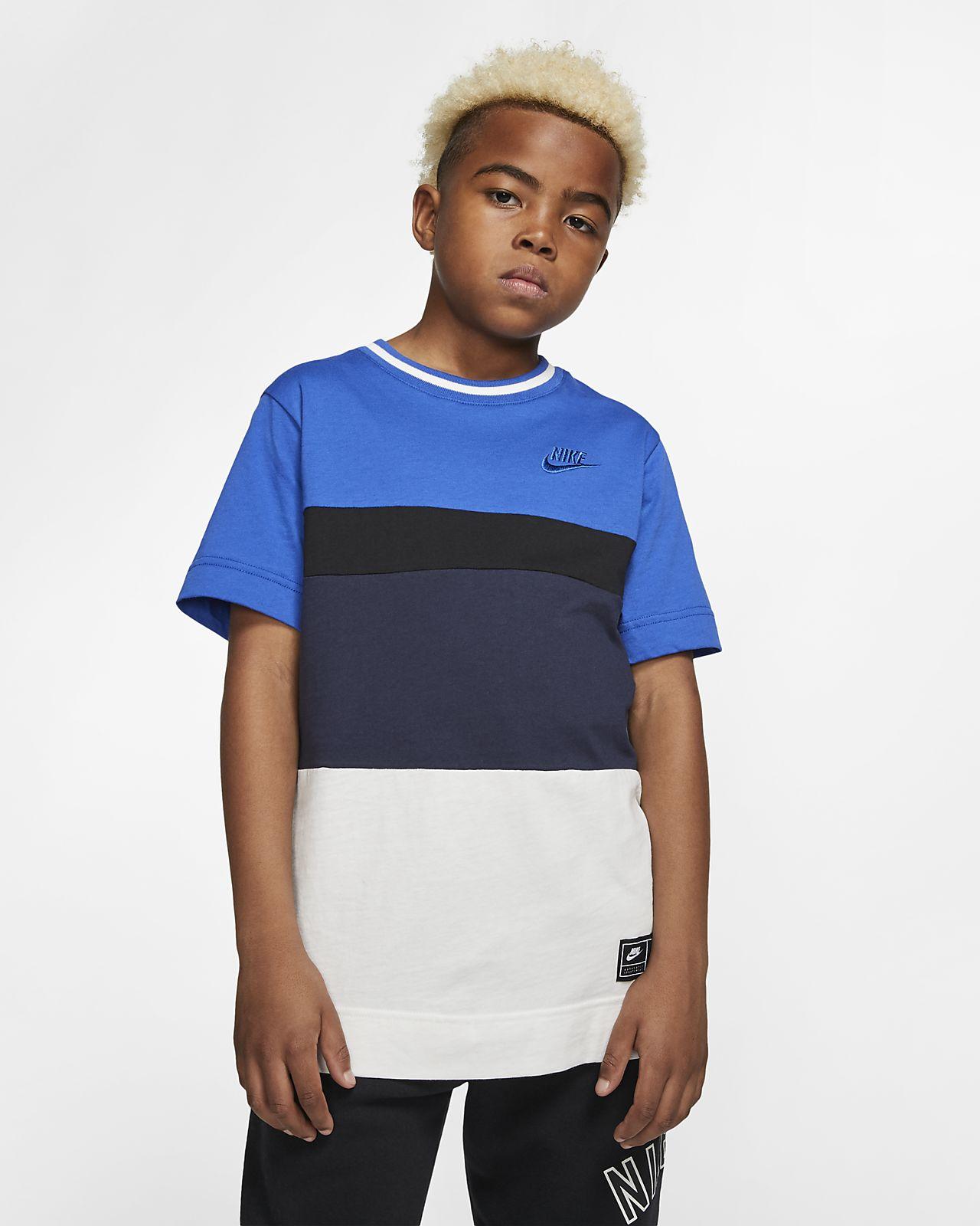 Prenda superior de manga corta para niño talla grande Nike Air