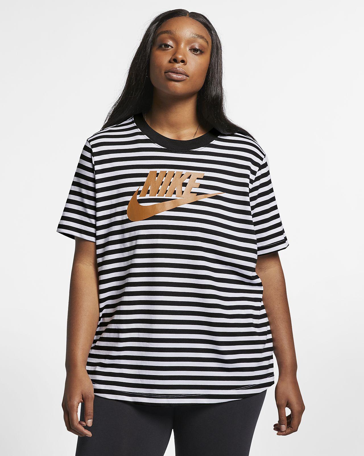 Haut à manches courtes Nike Sportswear pour Femme (grande taille)