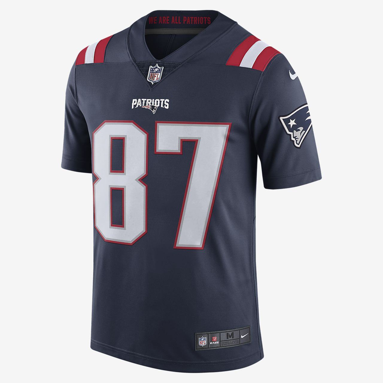 patriots color rush jerseys for sale