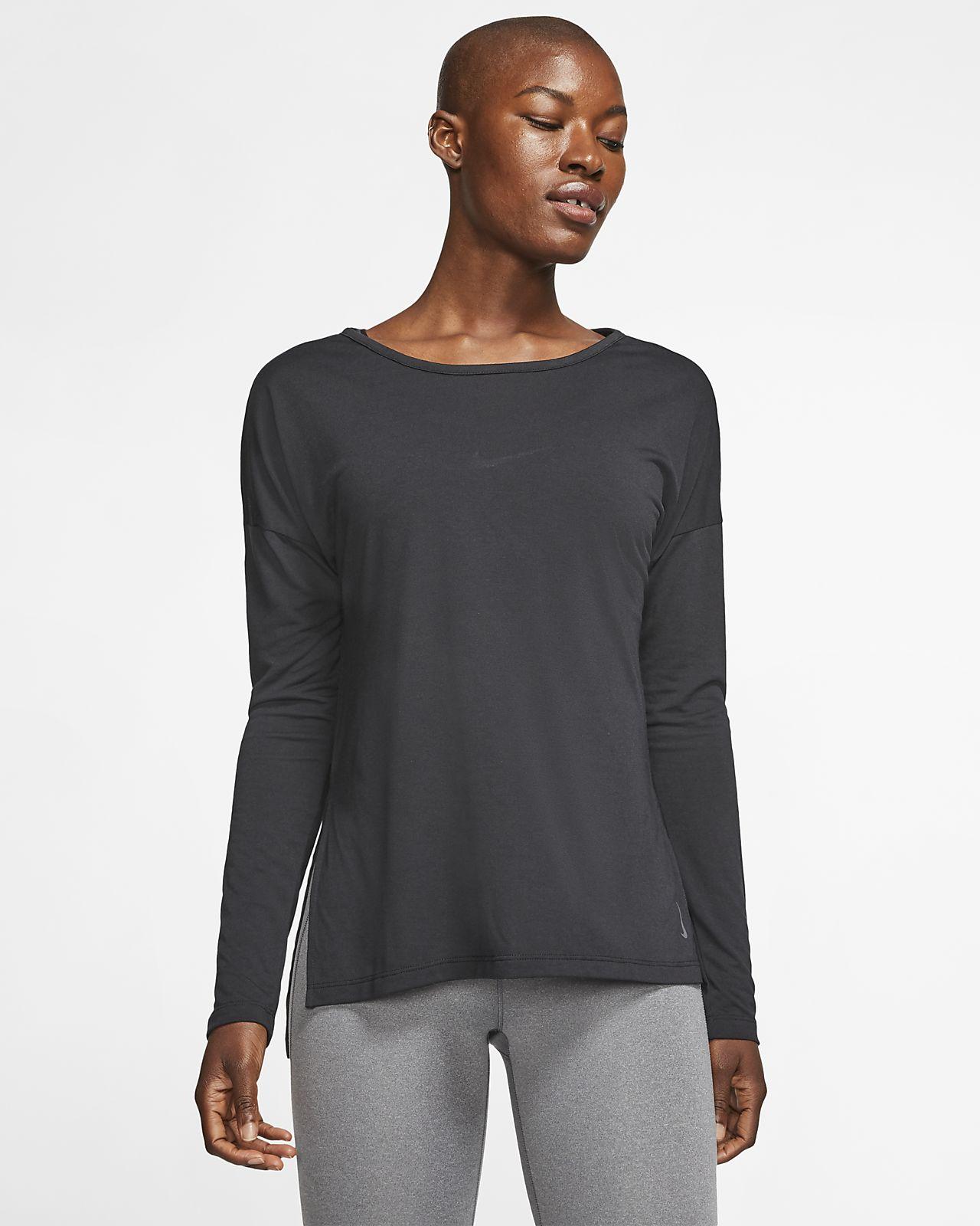 Nike Dri-FIT Yoga Women's Long-Sleeve Training Top