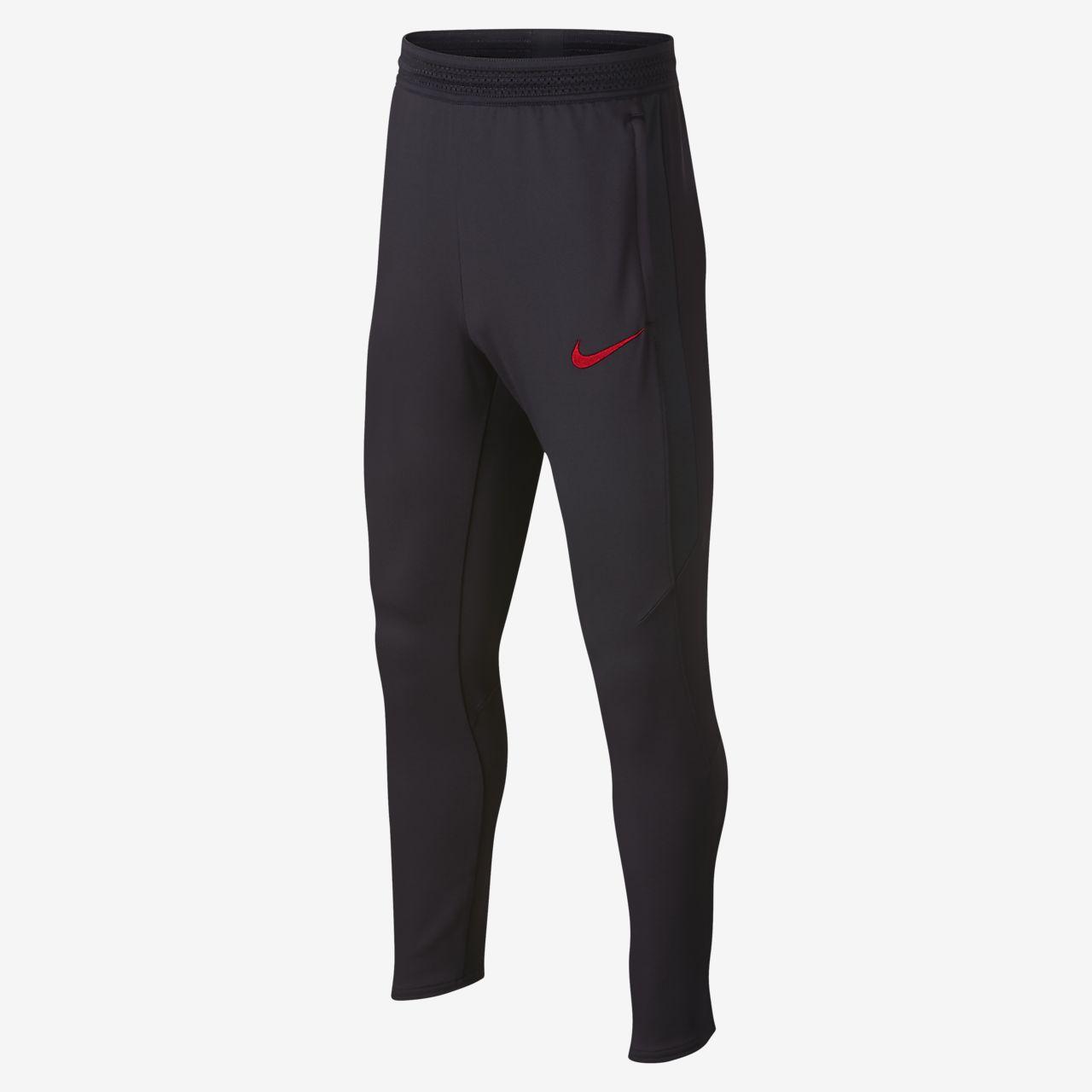 Pantalones de fútbol para niño talla grande PSG Dri-FIT Strike