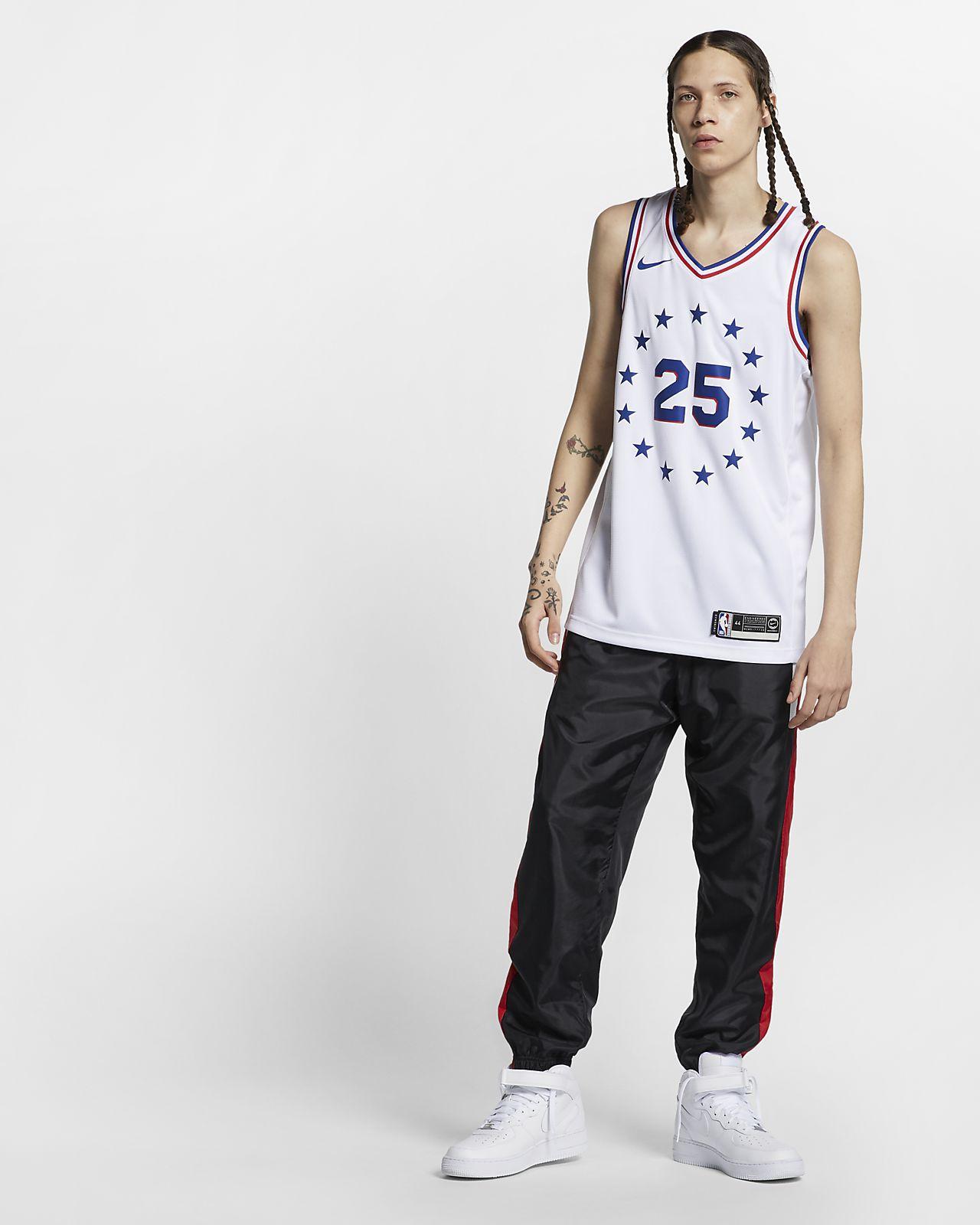 0272e5f0a21 ... Ben Simmons Earned City Edition Swingman (Philadelphia 76ers) Nike NBA  Connected Trikot für Herren