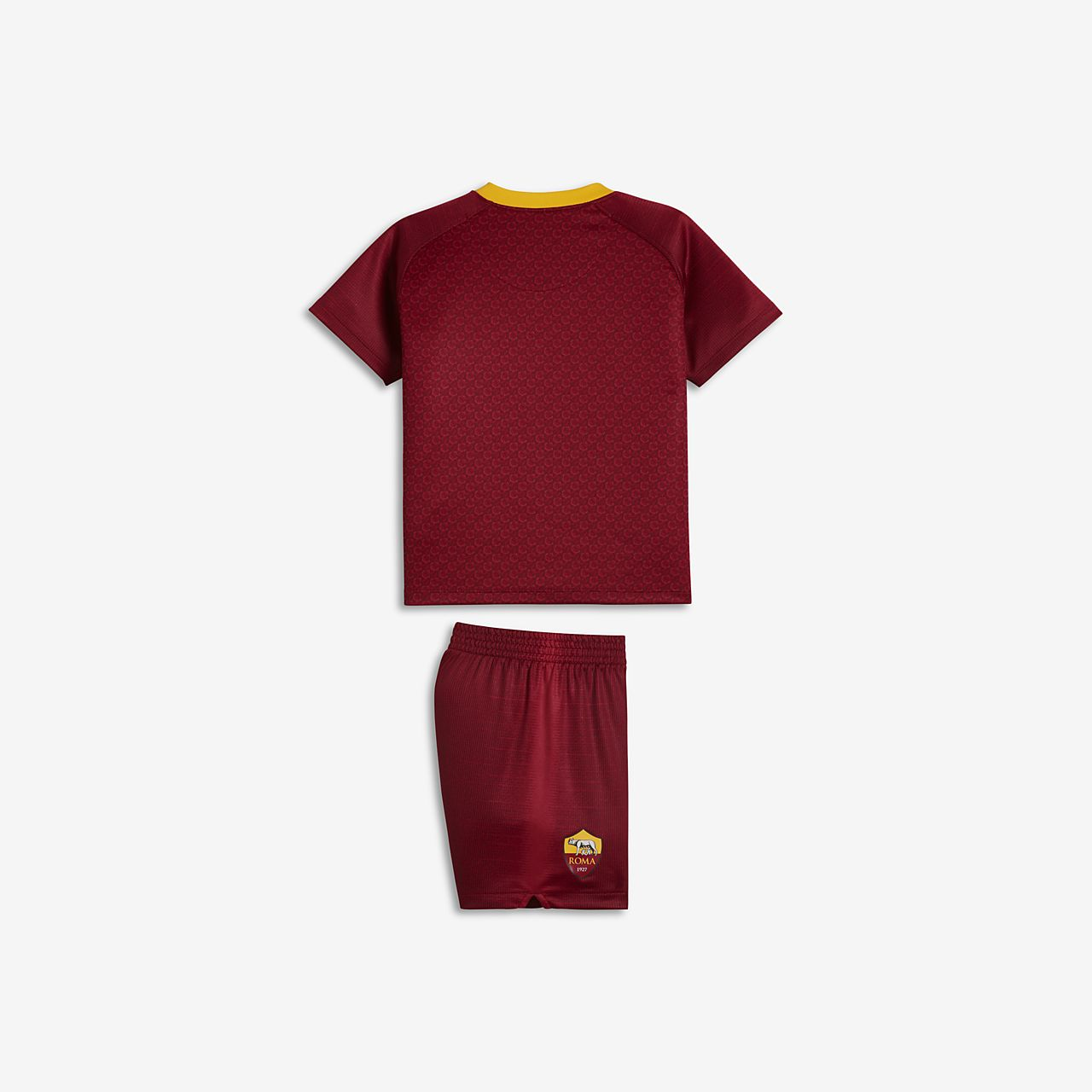 d17d8142c 2018 19 A.S. Roma Stadium Home Baby Football Kit. Nike.com ZA