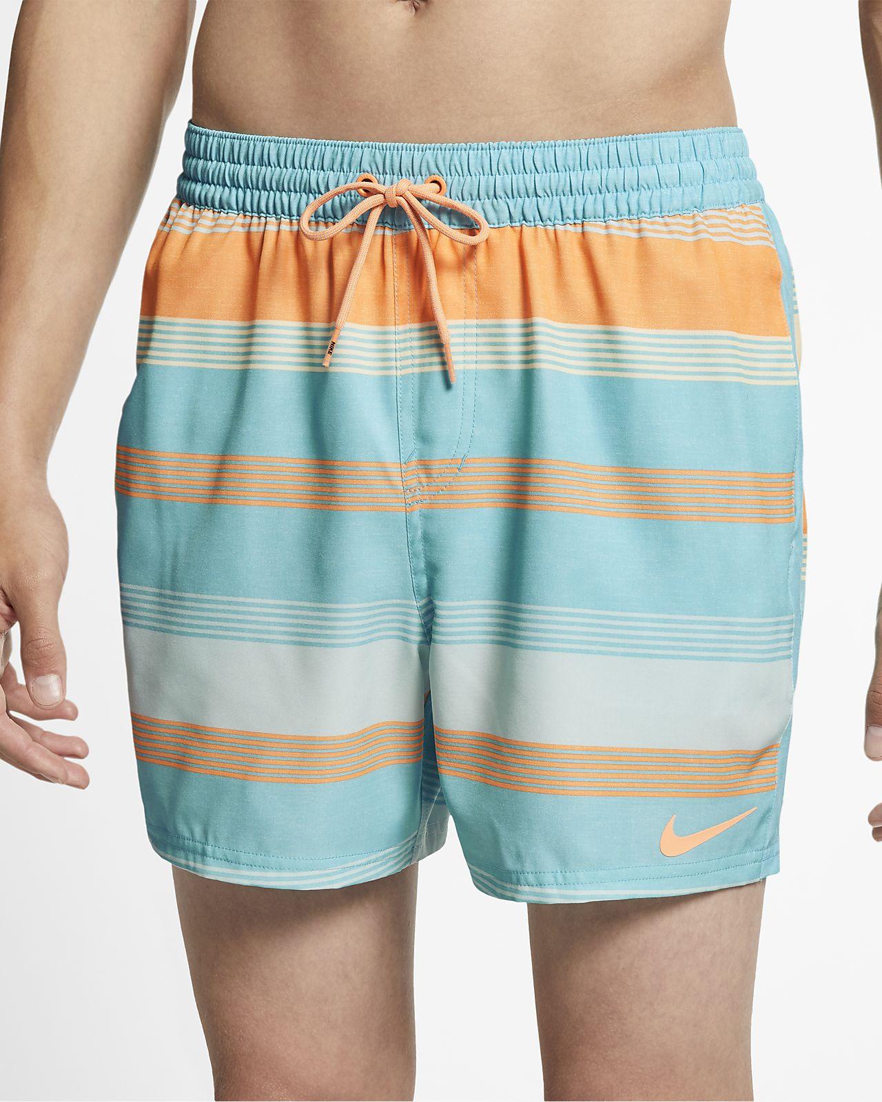 """Nike Linen Racer Men's 5"""" Swim Trunks"""