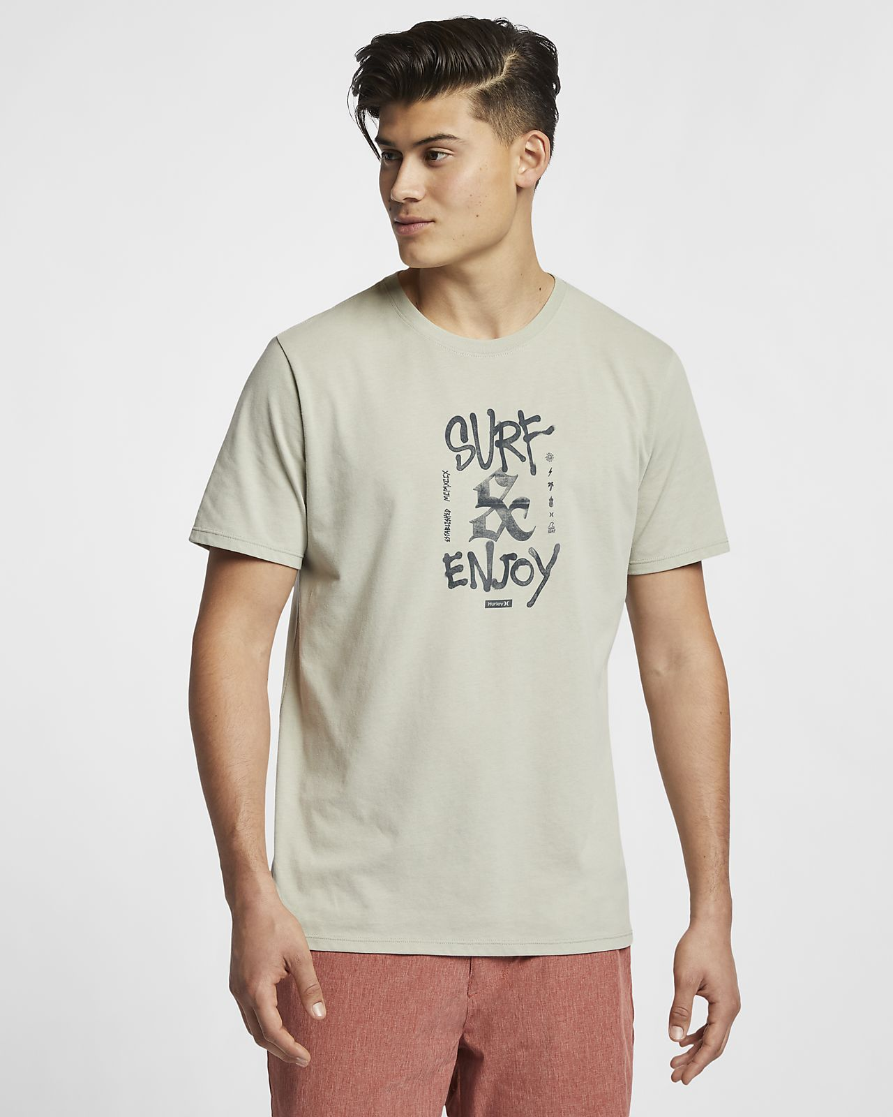 Hurley Dri-FIT Surf And Enjoy Camiseta - Hombre