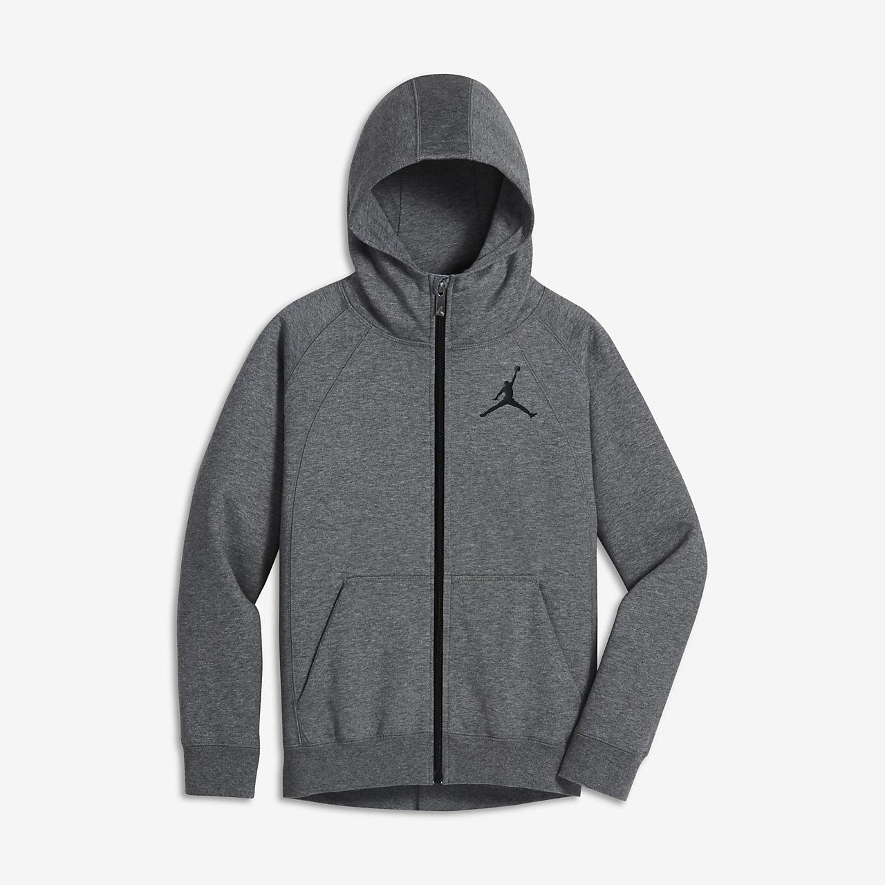75ec8587034 Sweat à capuche entièrement zippé Jordan Sportswear Wings pour Garçon plus  âgé