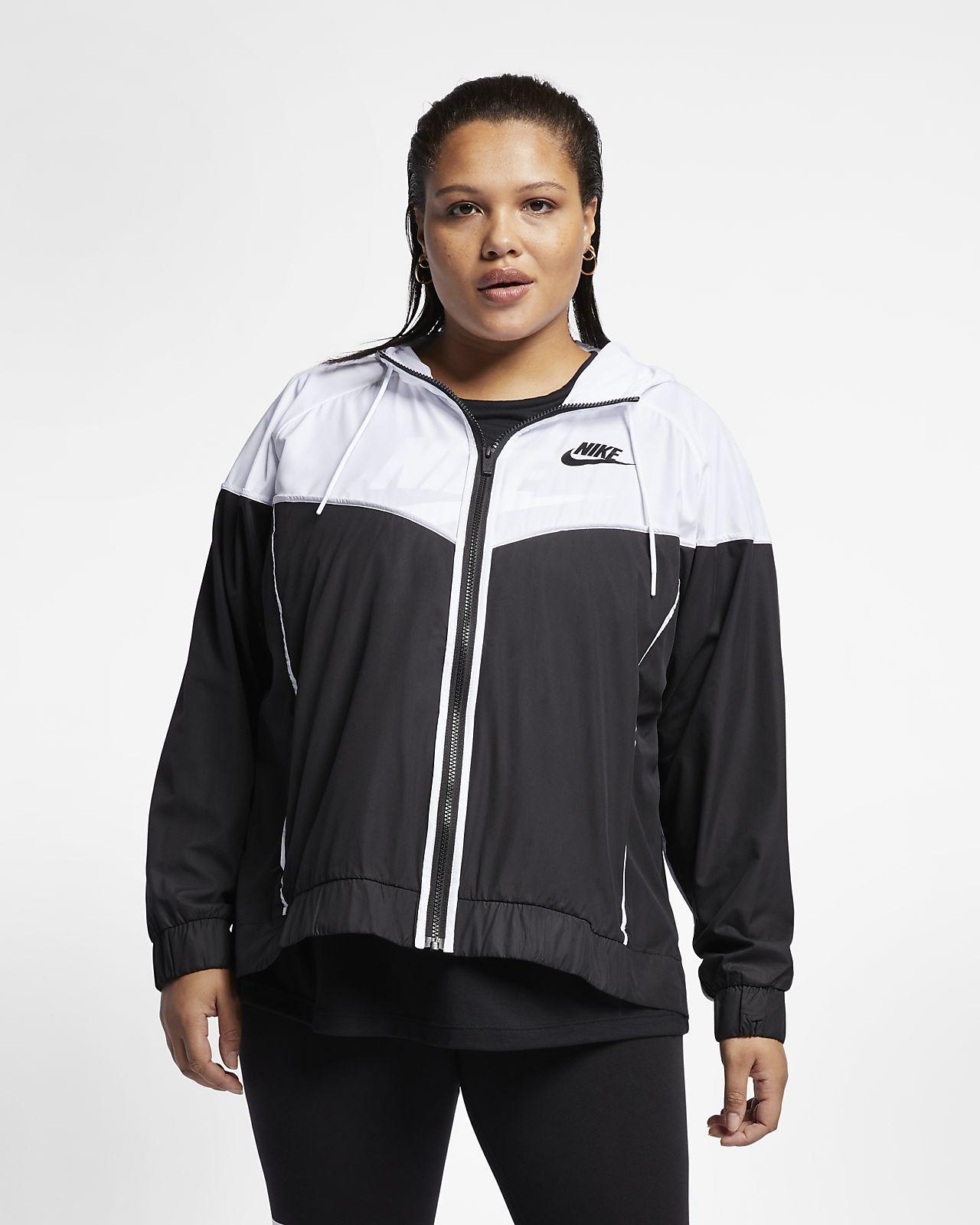 Dámská bunda Nike Sportswear Windrunner (větší velikost). Nike.com CZ aa58f952120