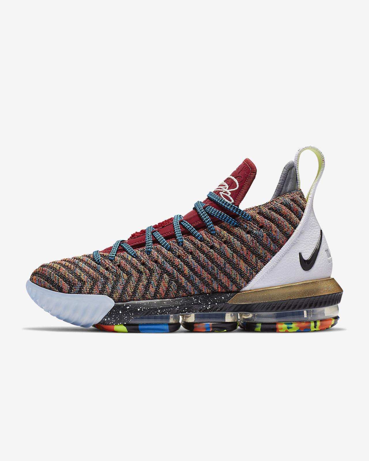 low priced 9953f 47375 ... LeBron 16 Starting 5 Pre-Heat-sko til mænd