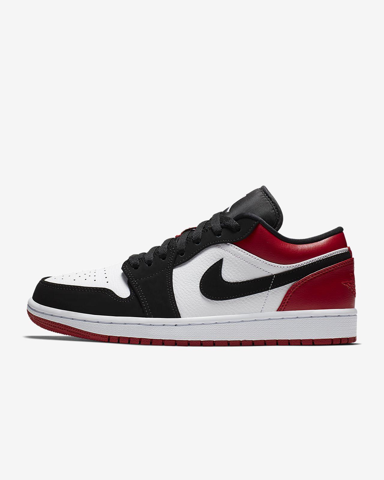 Air Jordan 1 Jordan Uomo Nike Air 1 Low Bianco * InnovaSystem