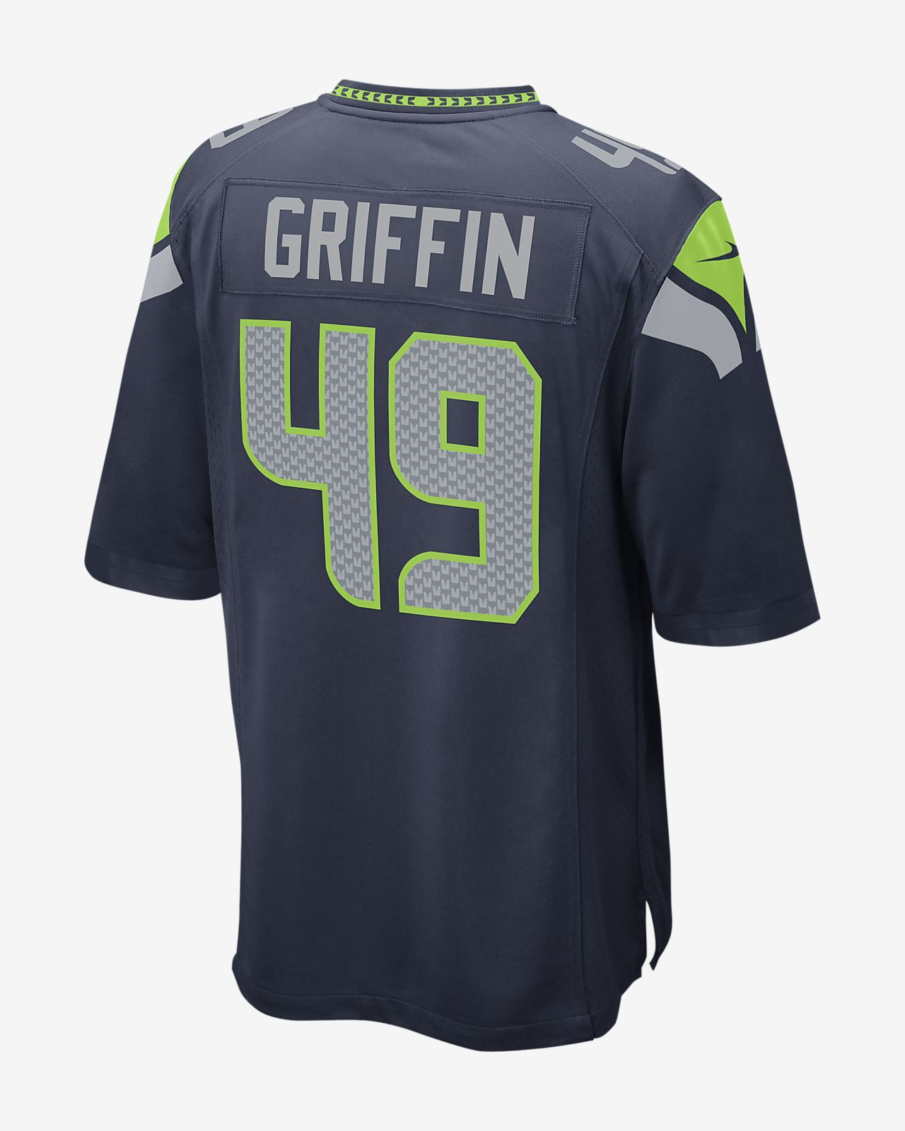 66b318b63a2 ... NFL Seattle Seahawks Game (Shaquem Griffin) Men's Football Jersey