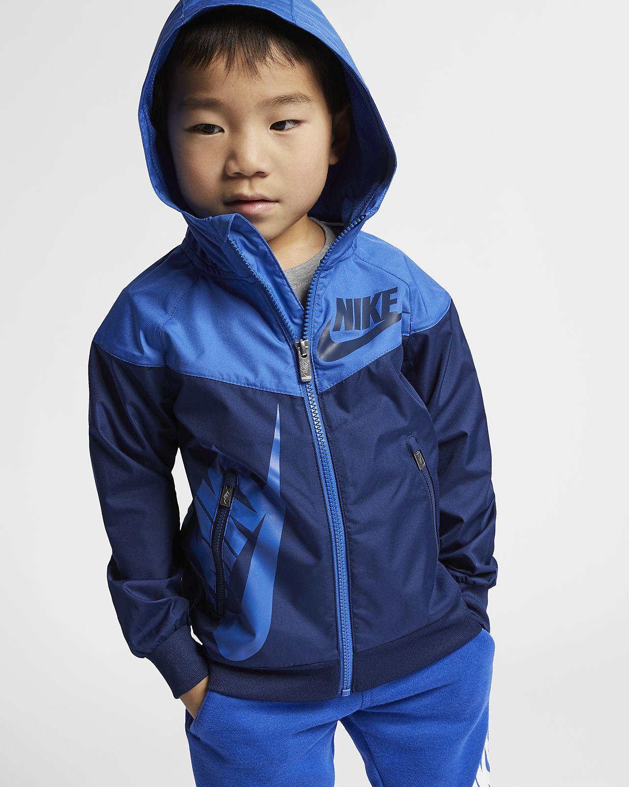 29e056ef3 Nike Sportswear Windrunner Little Kids' Jacket. Nike.com