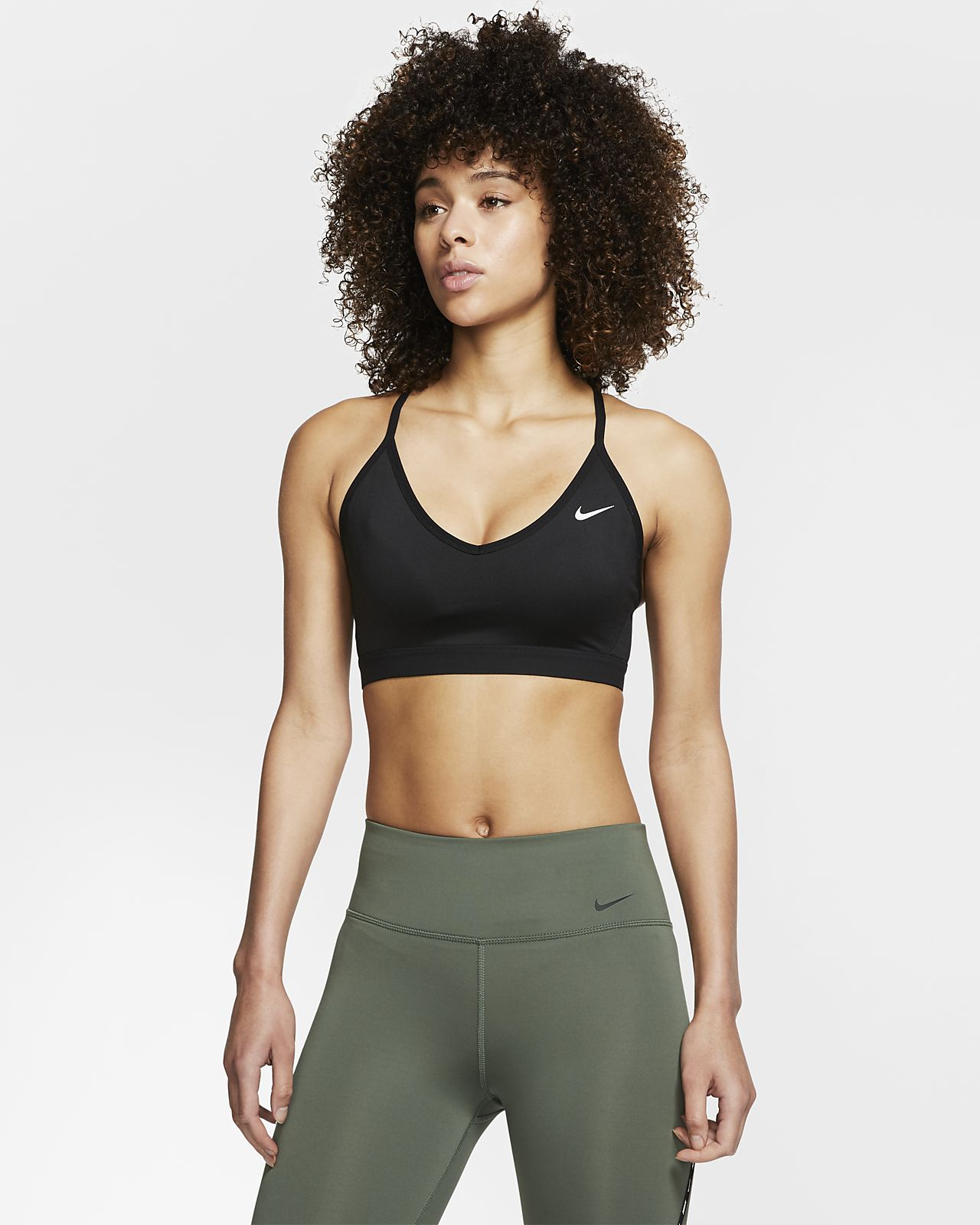 Nike Indy Hafif Destekli Kadın Spor Sütyeni