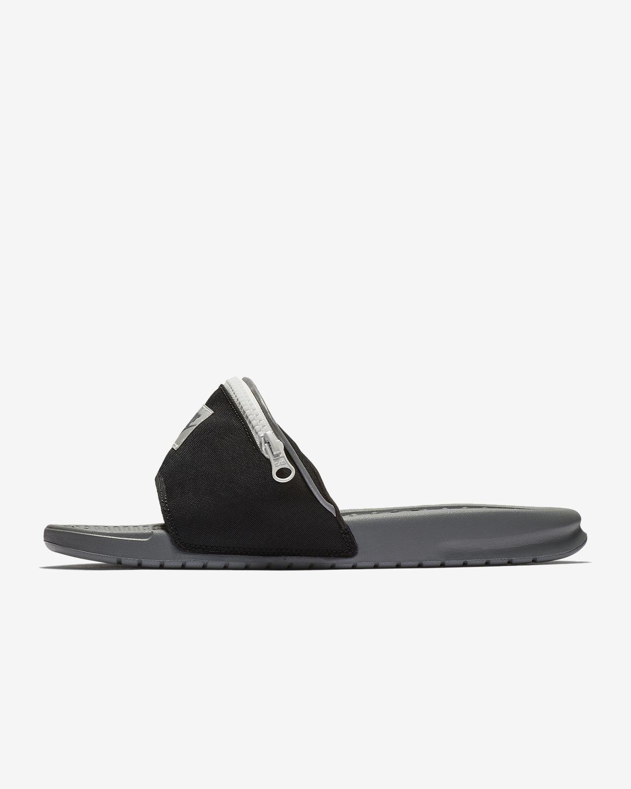 detailed look 64299 6449c ... Claquette Nike Benassi JDI Fanny Pack pour Homme