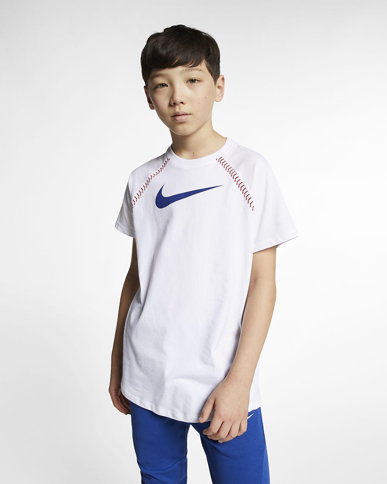 0b4d7ebab Nike Dri-FIT Big Kids' Training T-Shirt. Nike.com