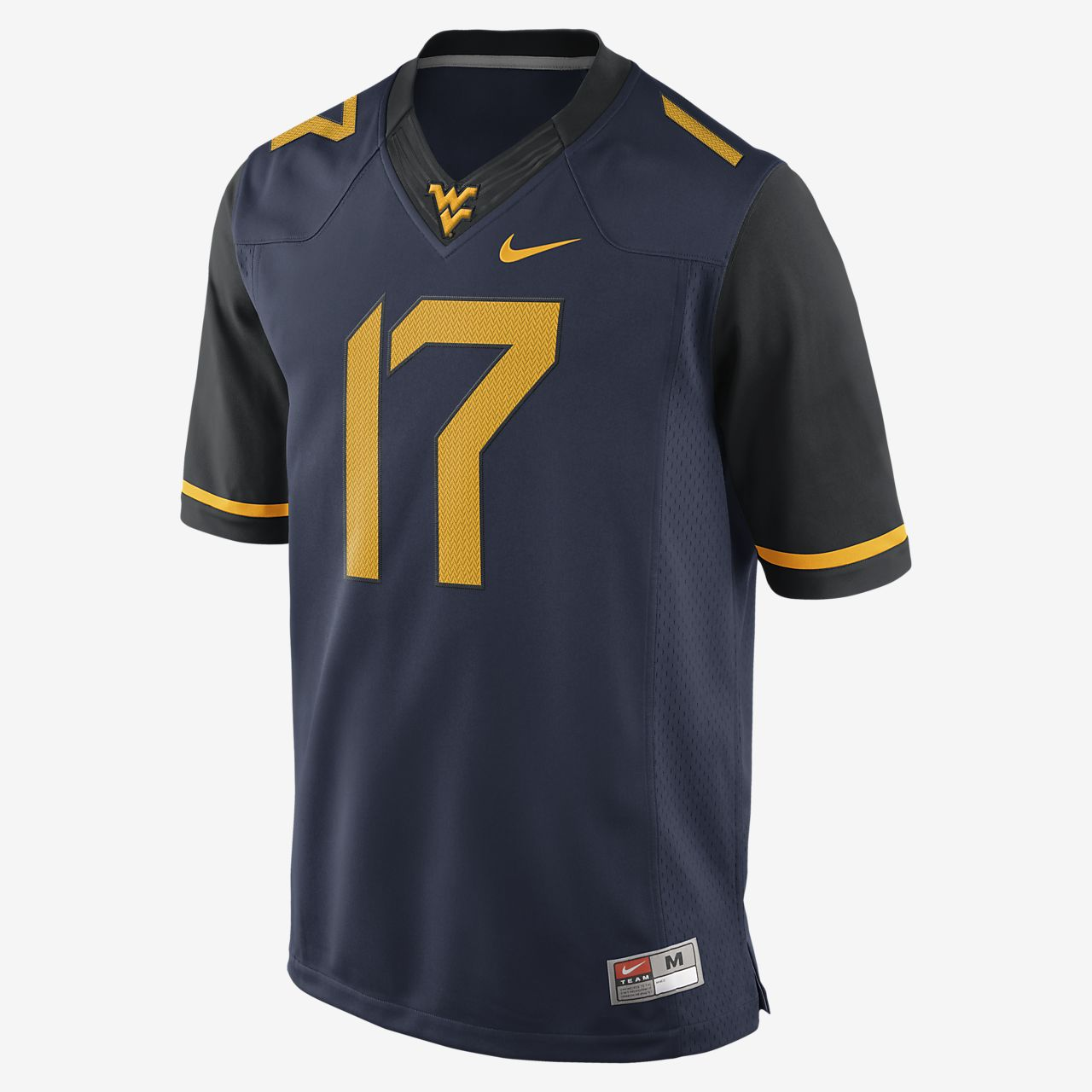 Limited Jersey Men's Nike west College Football Virginia vOzqnUY8