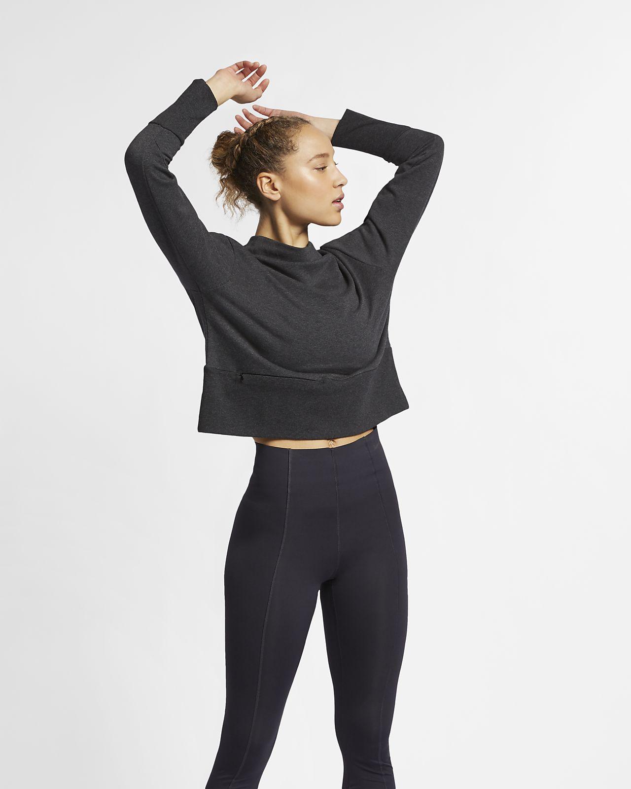 Nike Studio Women's Yoga Training Pullover Top