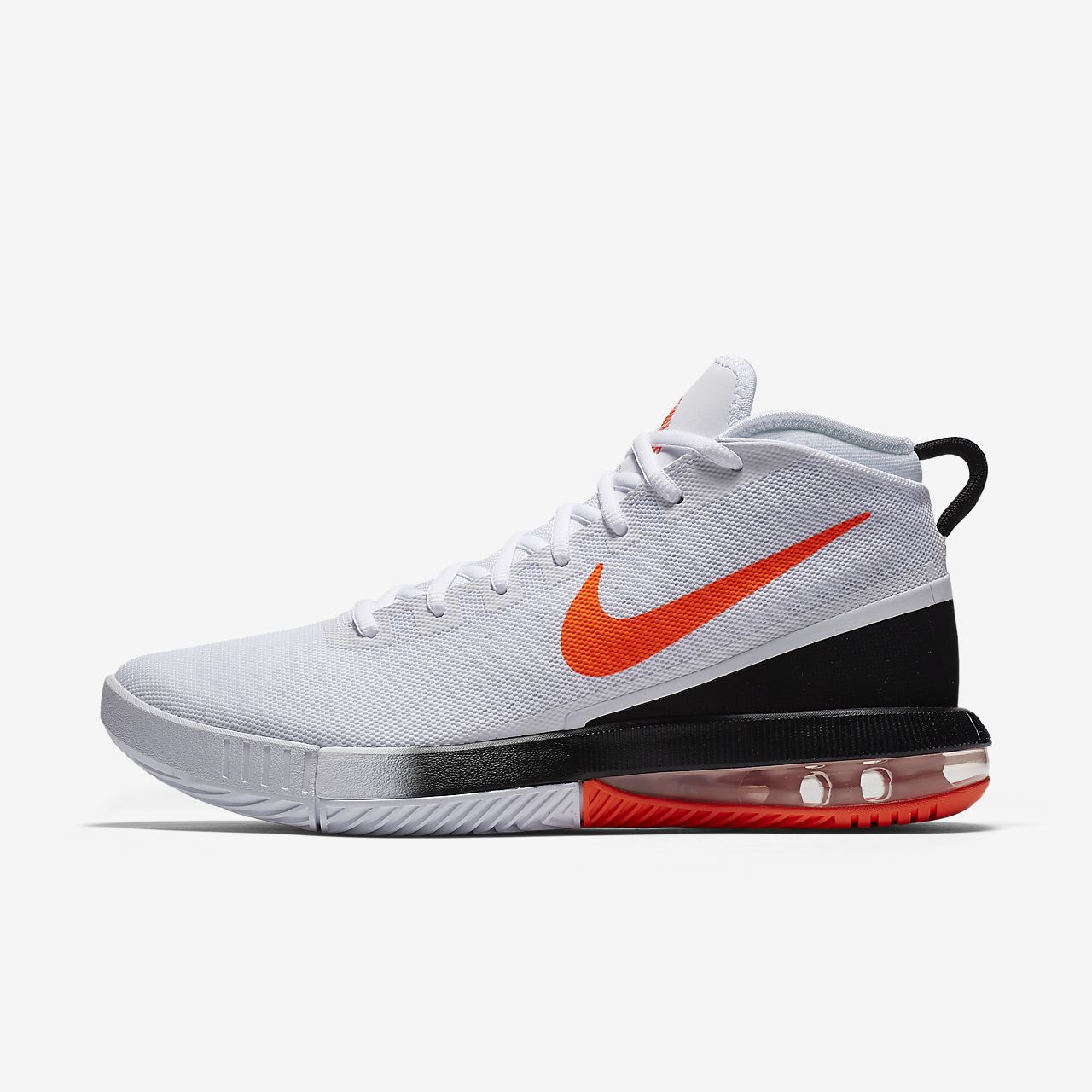 the latest 2d740 75332 ... white black supremerun nike air max dominate mens basketball shoe