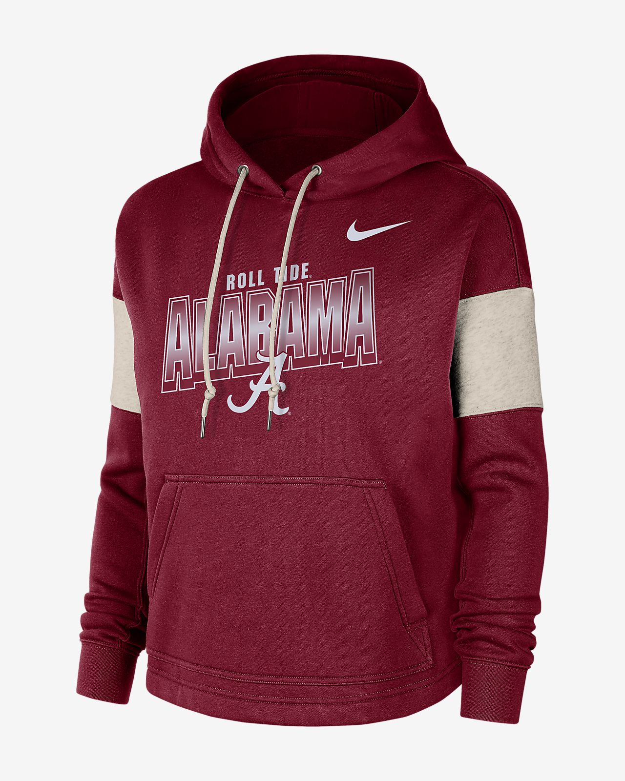 Alabama Crimson Tide Nike Therma Pullover Hoodie