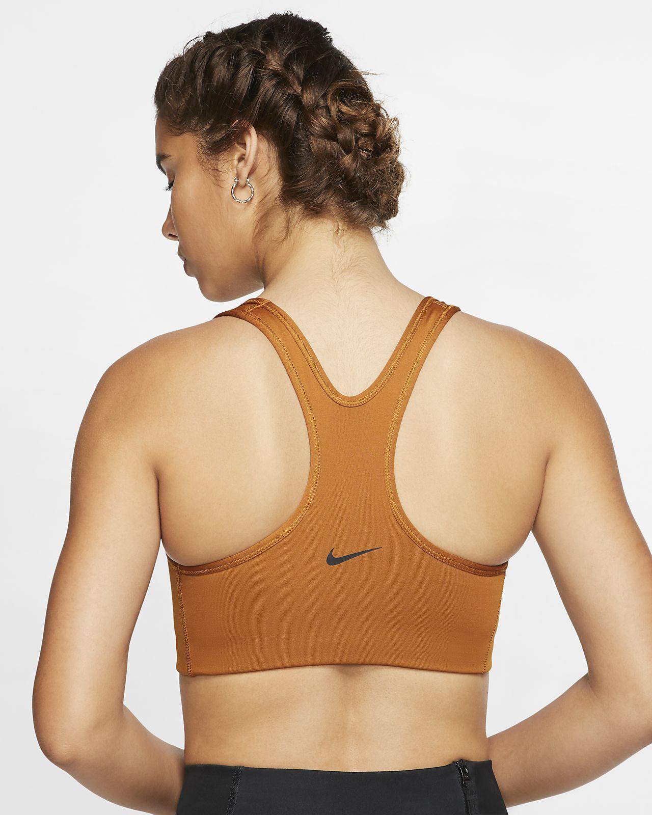 ed42a978 Nike Rebel Swoosh Women's JDI Medium-Support Sports Bra