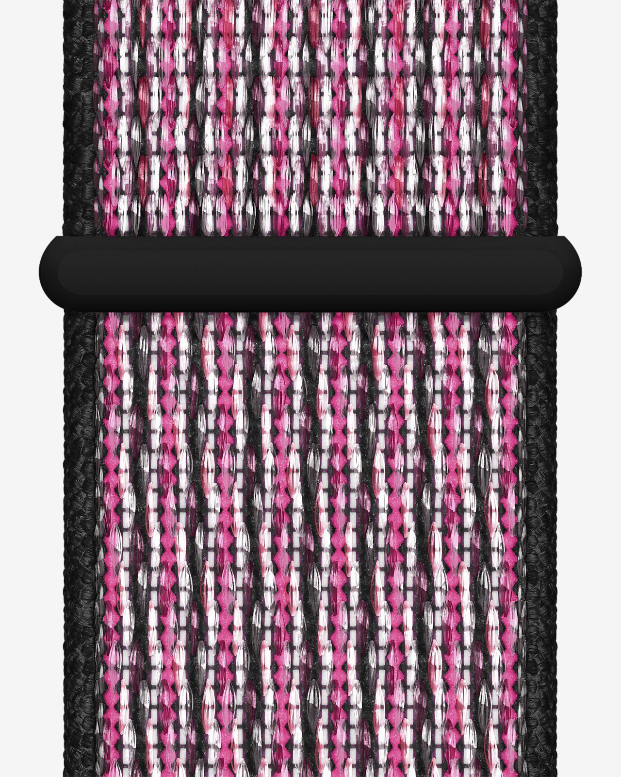 Sport Loop Apple Watch Nike 40 mm Pink Blast/True Berry/Black