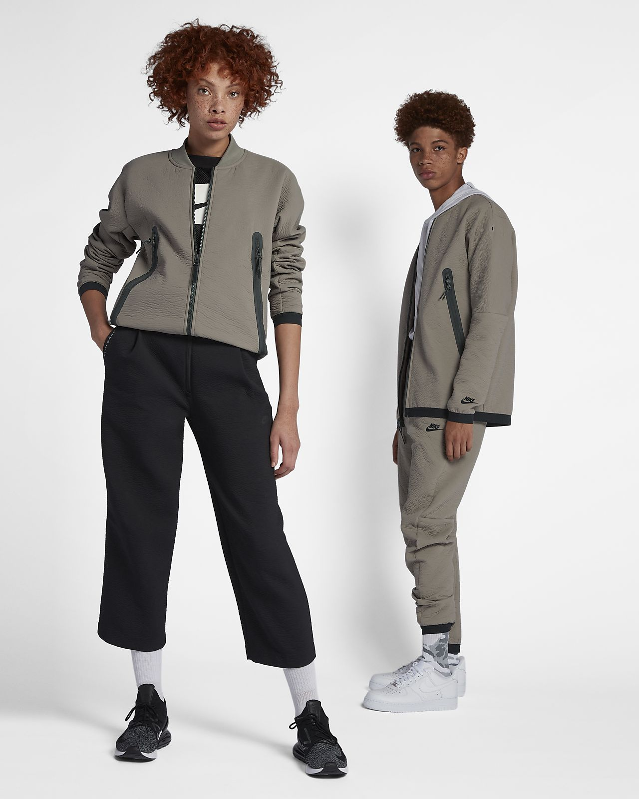 Υφαντό τζάκετ φόρμας Nike Sportswear Tech Pack