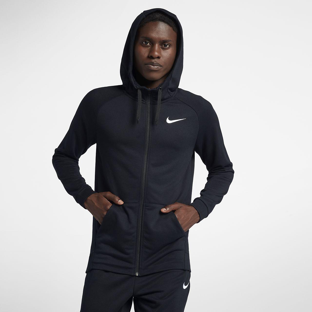 0a234466a6d5 Nike Dri-FIT Men s Full-Zip Training Hoodie. Nike.com HU