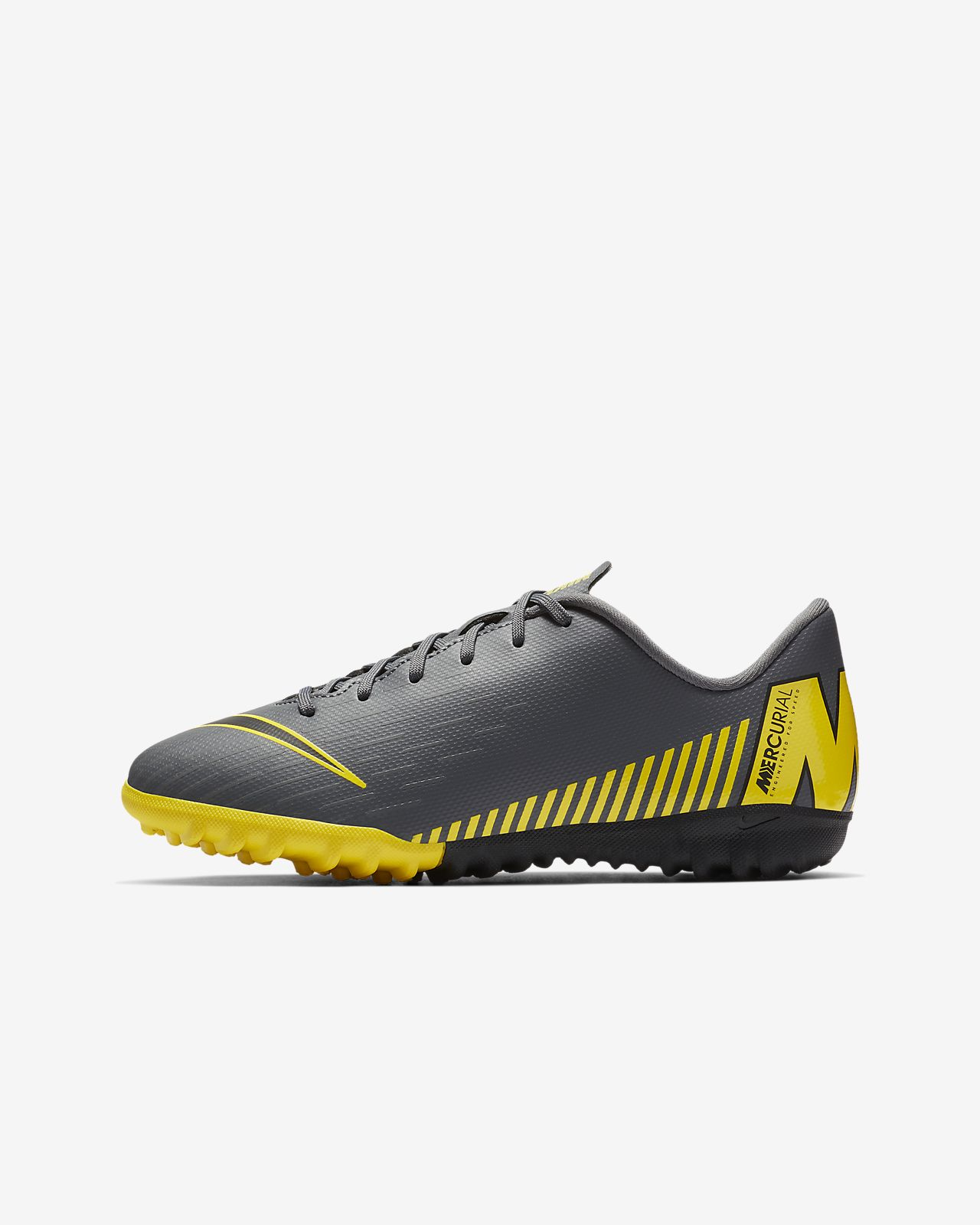 Nike Jr. MercurialX Vapor XII Academy Younger/Older Kids' Turf Football Shoe