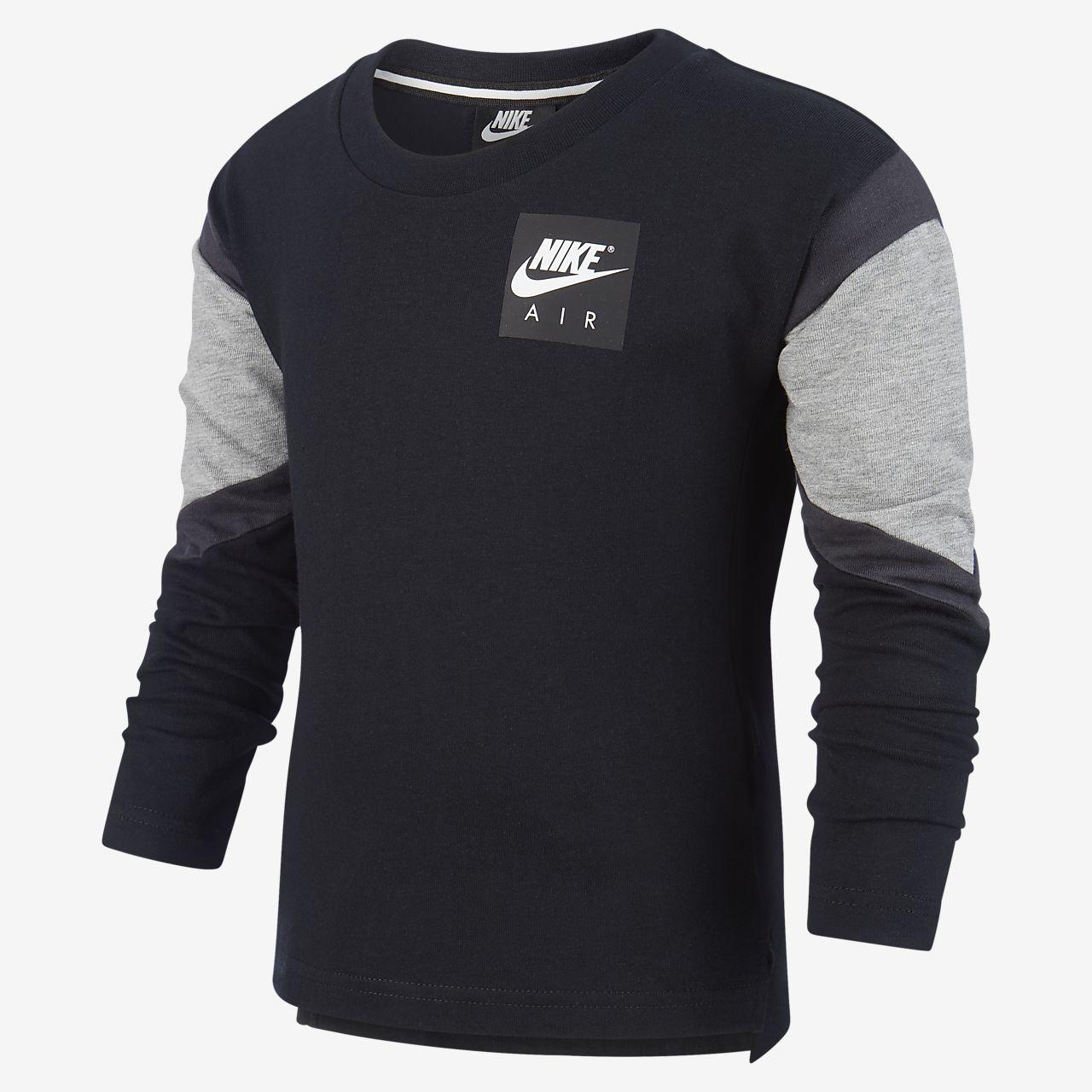 0672d784b9 Nike Air Toddler Camiseta de manga larga - Infantil. Nike.com ES