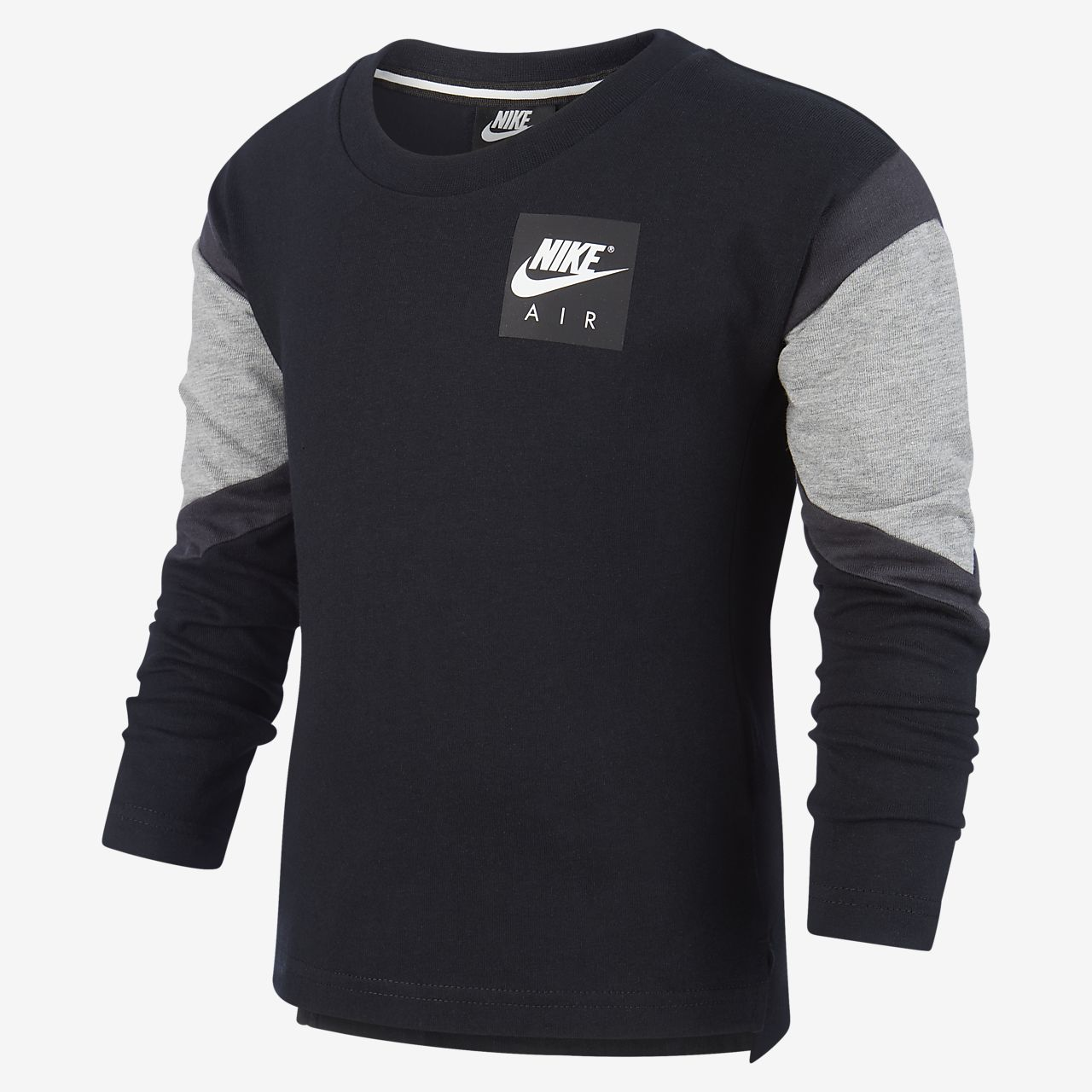 Långärmad tröja Nike Air för små barn. Nike SE
