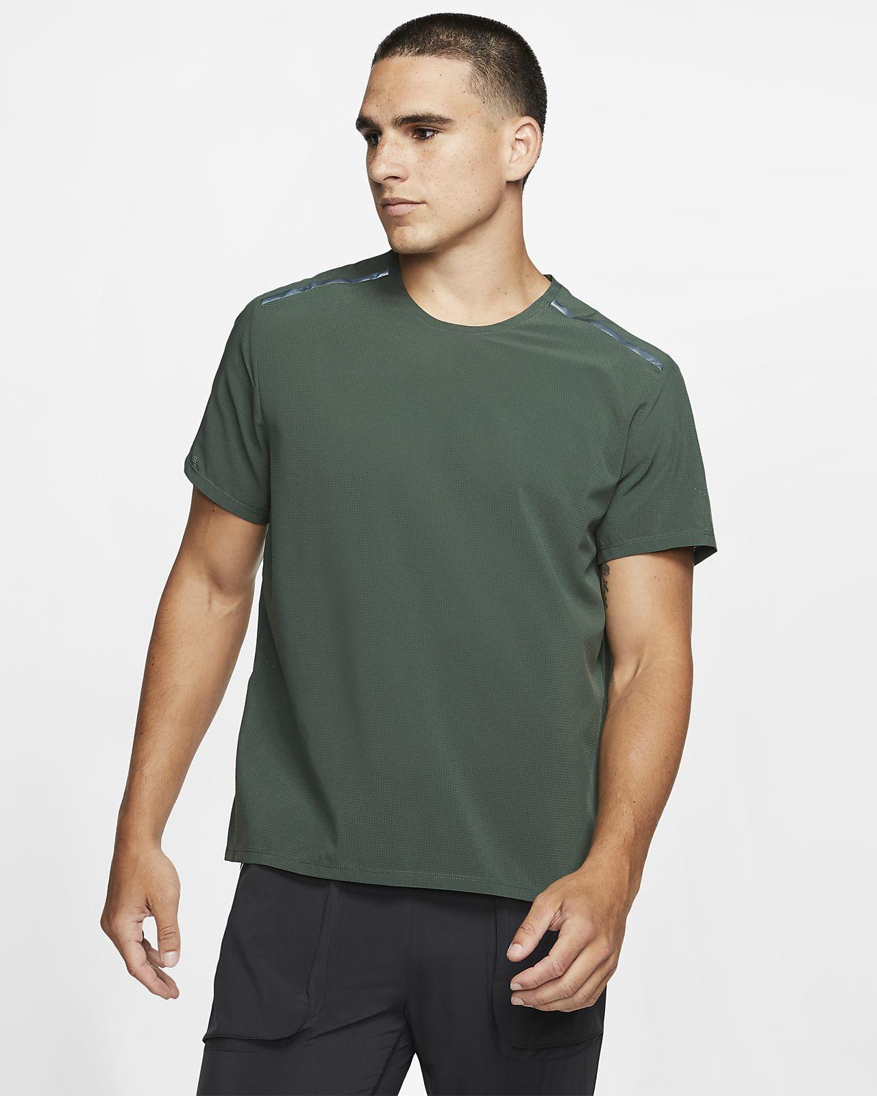 Nike Camiseta de running de manga corta - Hombre