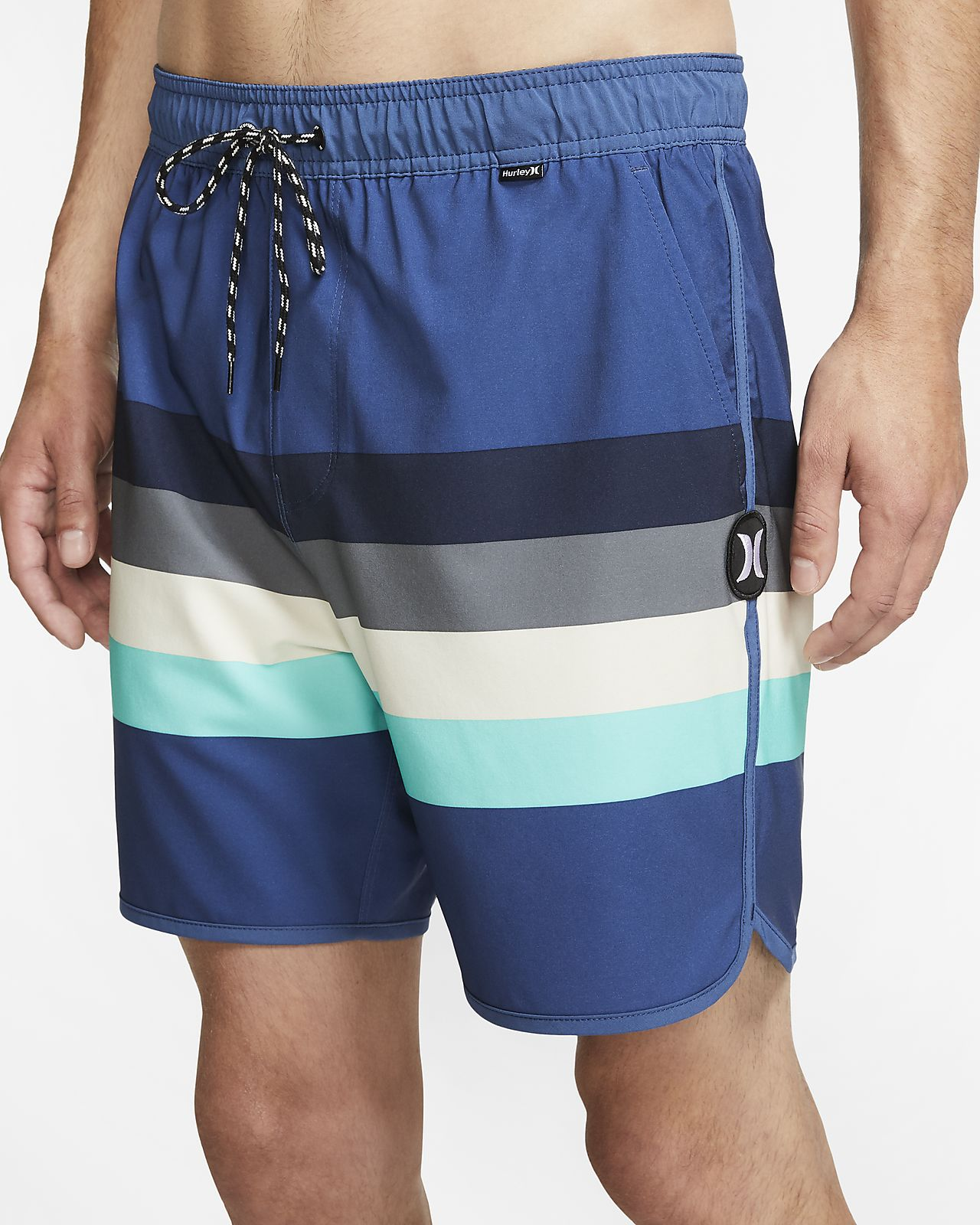 Shorts de playa de 43 cm para hombre Hurley Phantom River Volley