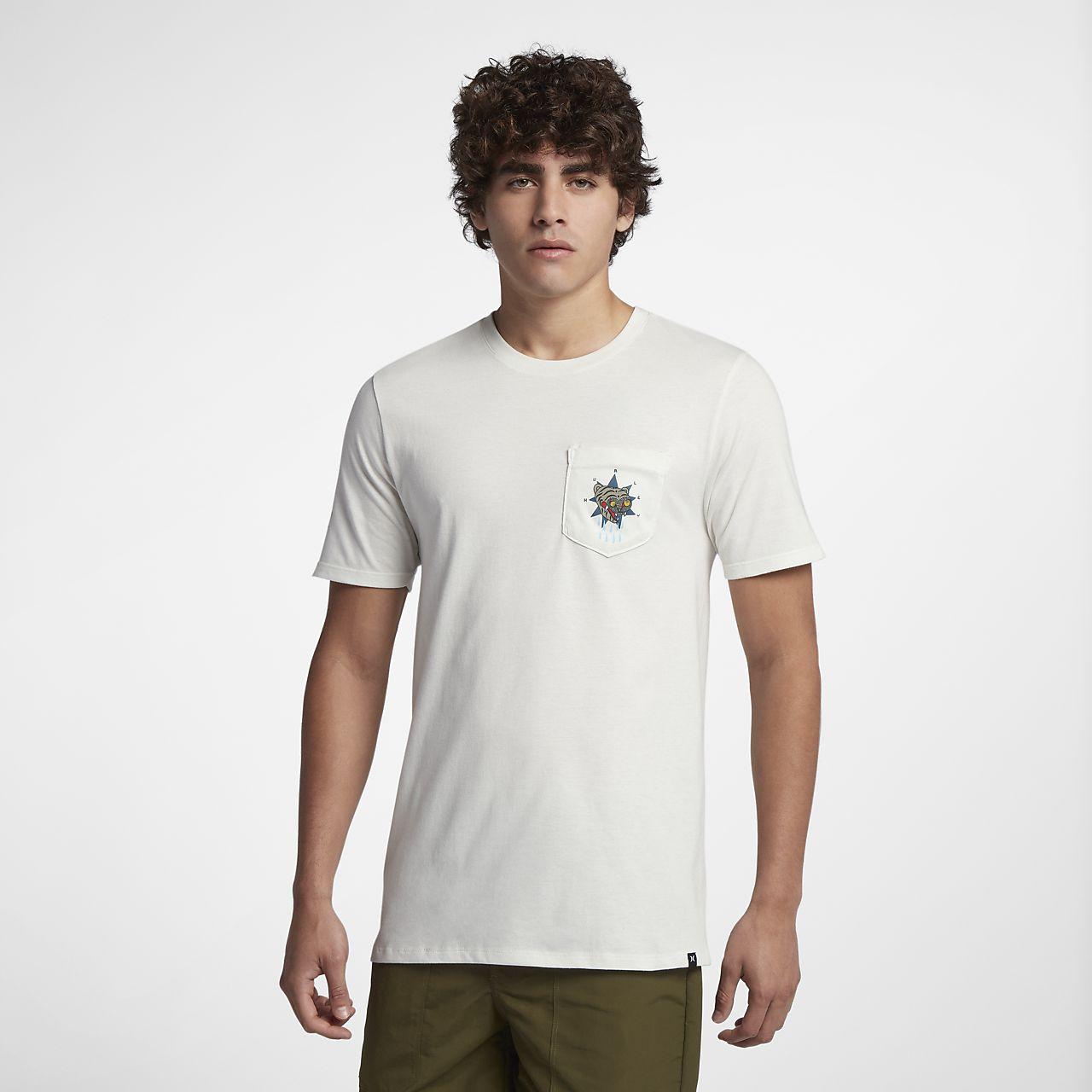 Hurley Premium Firing Pocket Men's T-Shirt