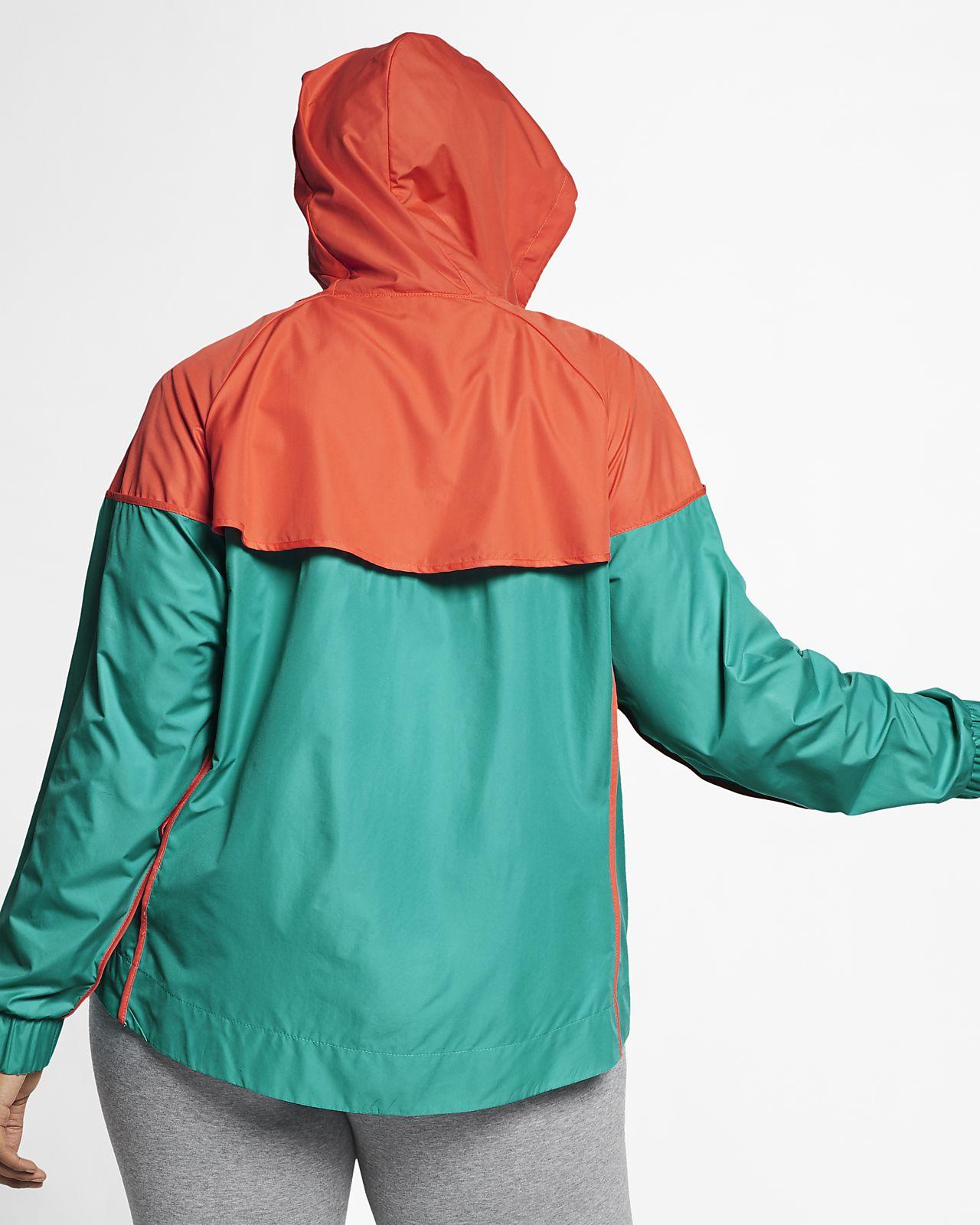 6ba92dc8 Nike Sportswear Windrunner – jakke til kvinder (plusstørrelse). Nike ...
