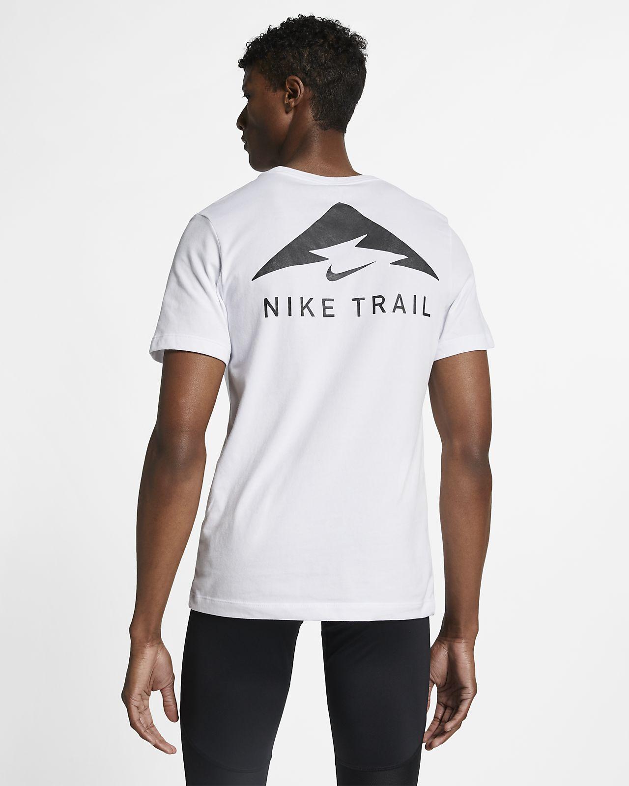 Nike Dri FIT Men's Running T Shirt Size 2XL (White)   Nike
