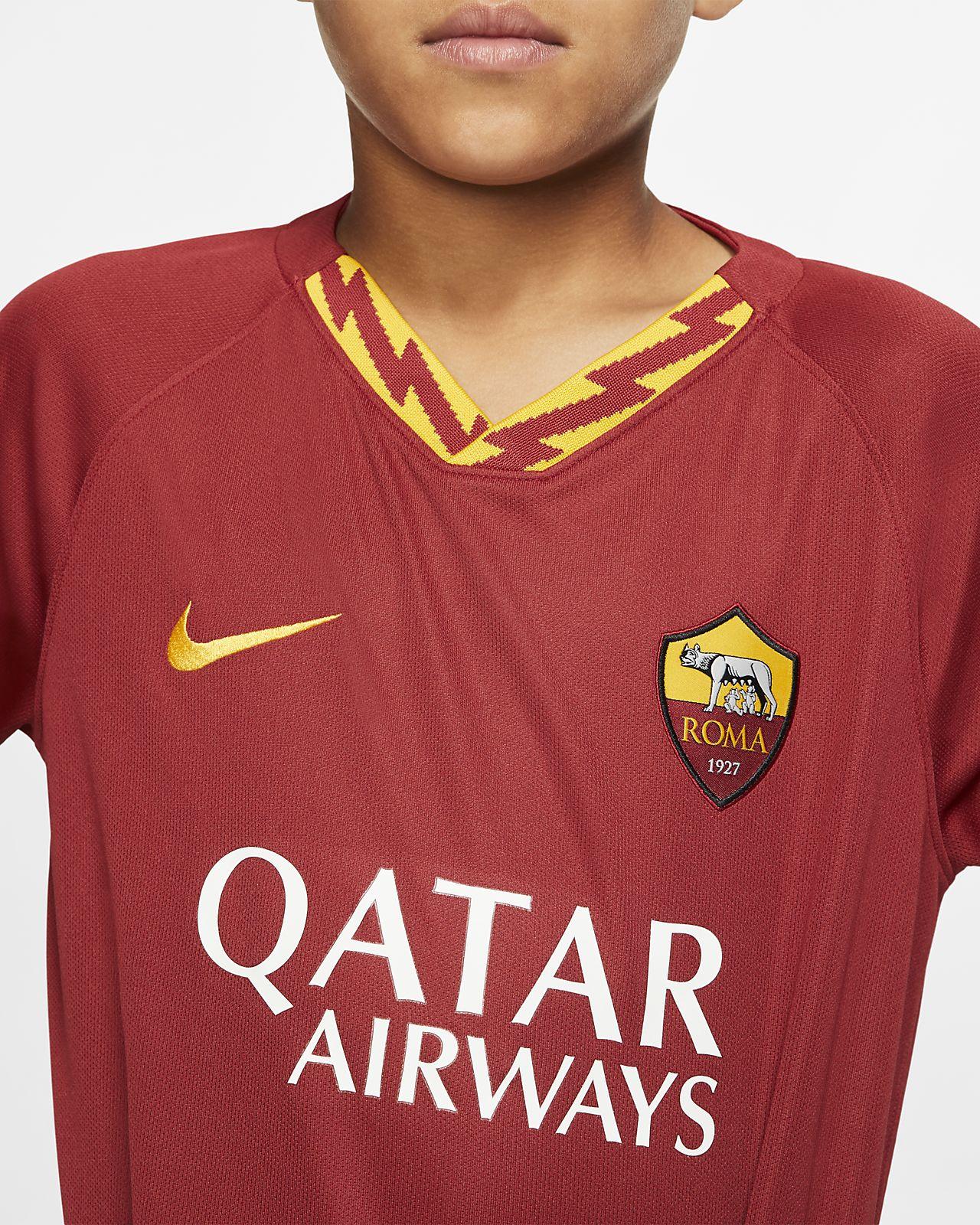 on sale 9c724 58254 A.S. Roma 2019/20 Stadium Home Older Kids' Football Shirt