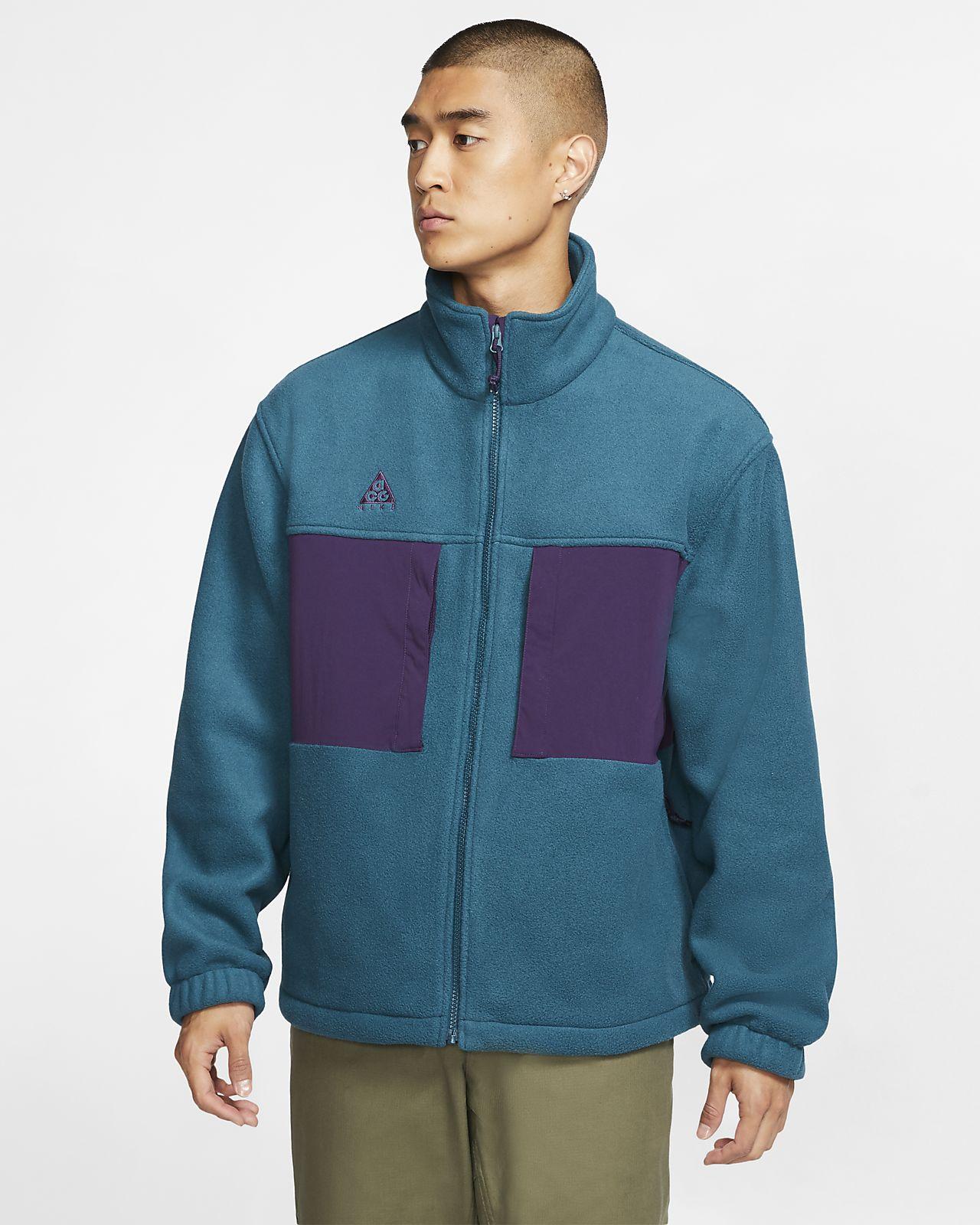 Chamarra de tejido Fleece para hombre Nike ACG