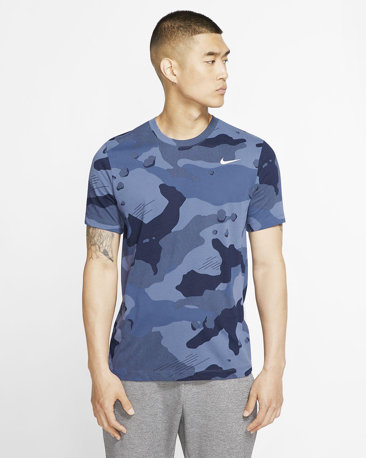 ナイキ Dri-FIT メンズ カモ トレーニング Tシャツ