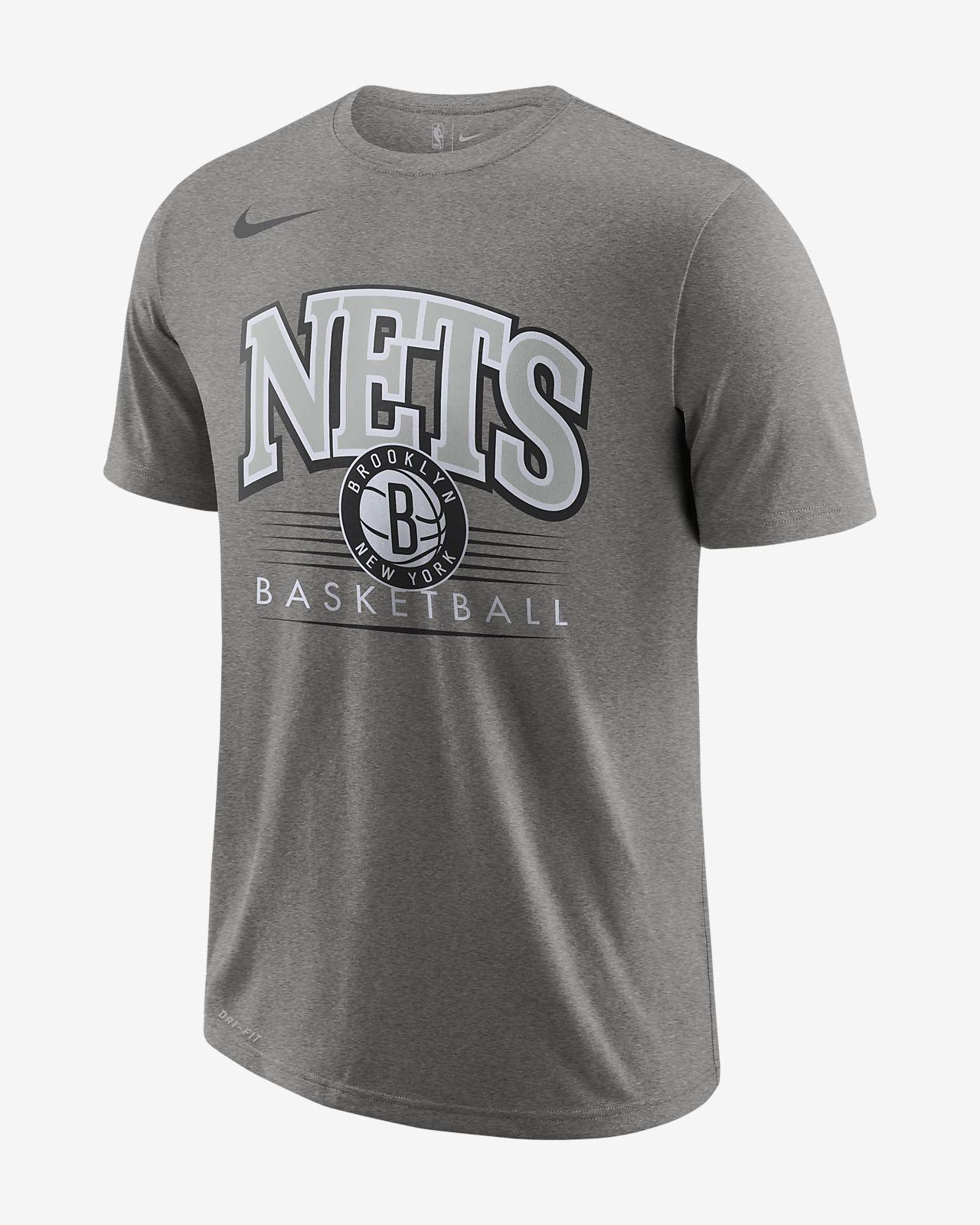 Brooklyn Nets Nike Dri-FIT-NBA-T-shirt til mænd
