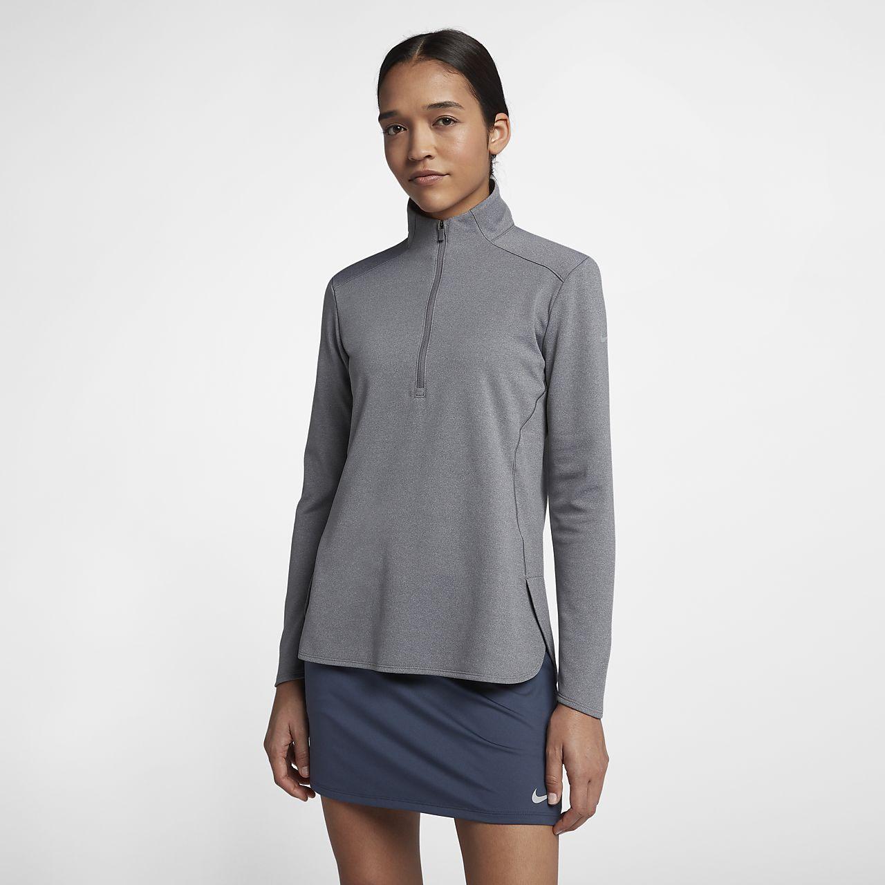 Haut de golf à manches longues Nike Dri-FIT pour Femme