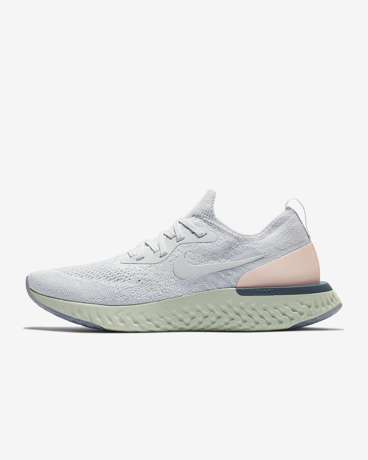 39b8057f7a82 Nike Epic React Flyknit 1 Women s Running Shoe. Nike.com