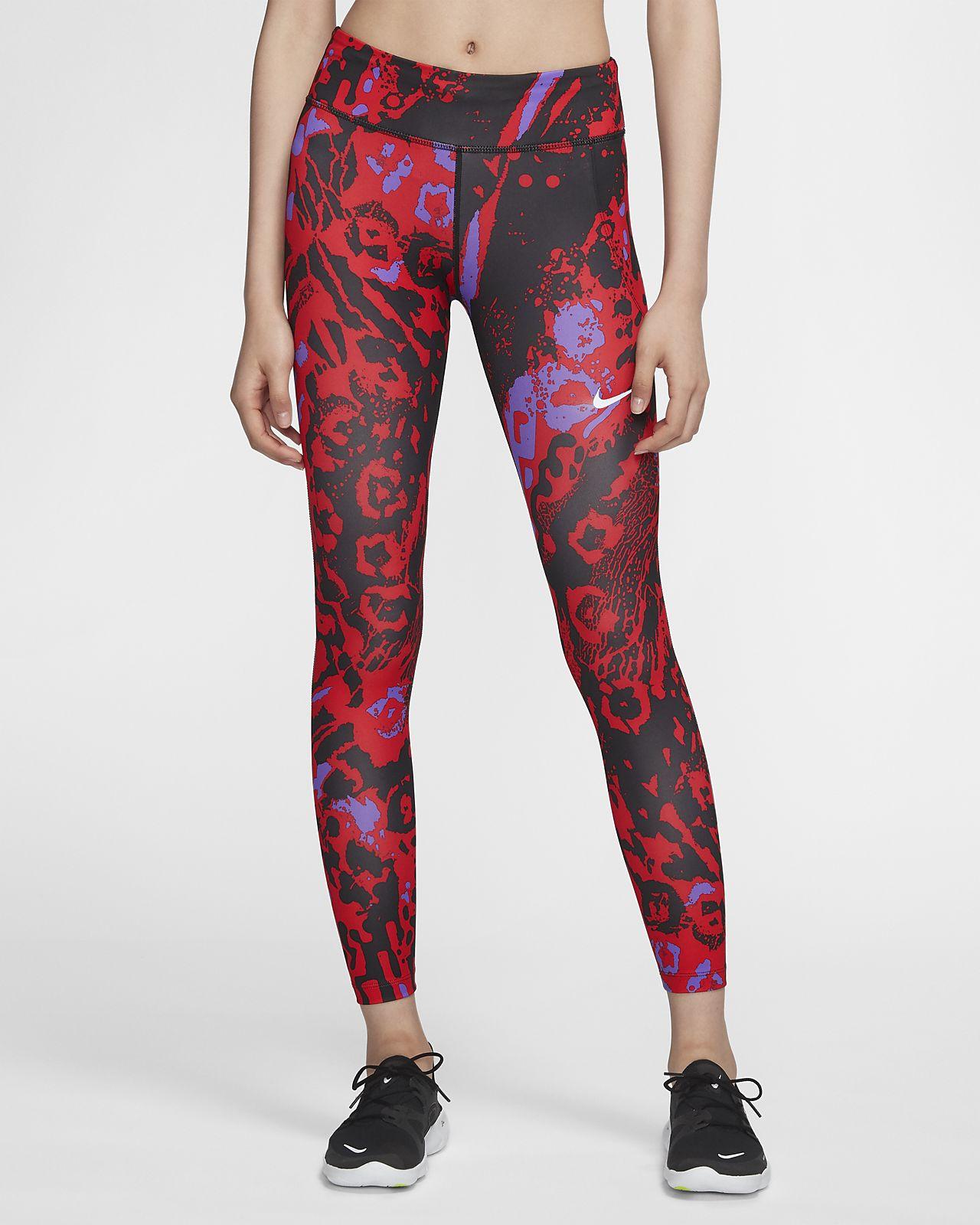 Nike Fast 7/8 女子印花跑步紧身裤