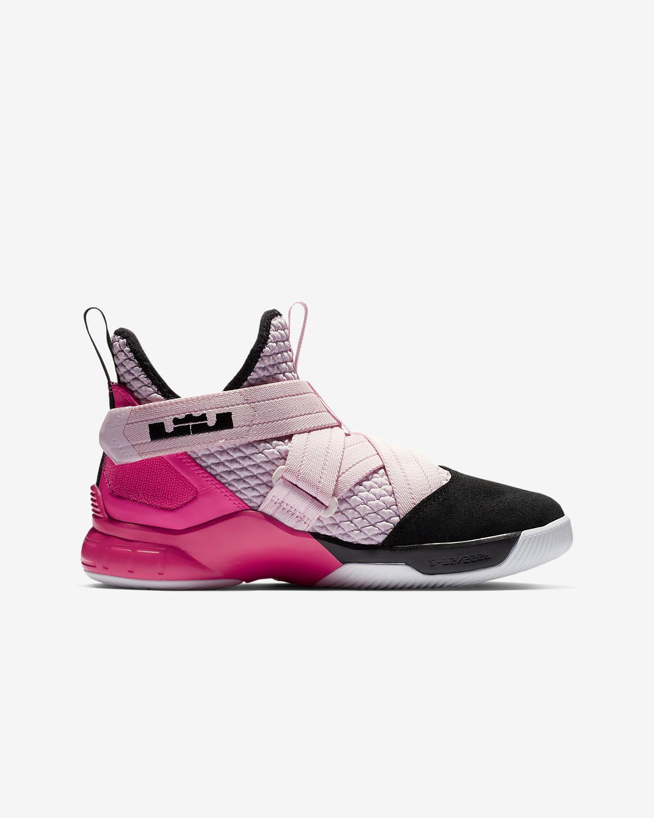 0cd91b49ef9b LeBron Soldier XII Big Kids  Basketball Shoe. Nike.com