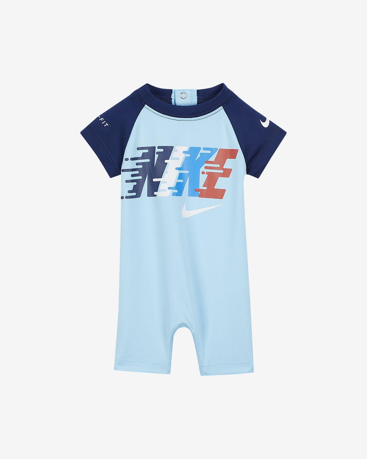 643b39c06 Nike Dri-FIT Baby (0-9M) Romper. Nike.com