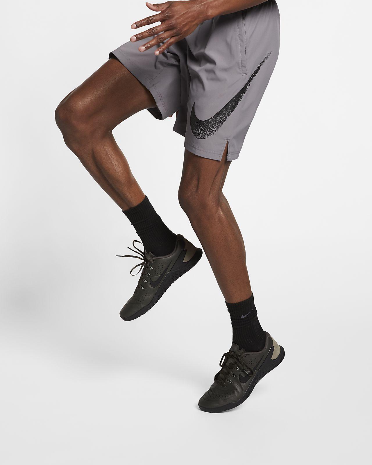 Męskie spodenki treningowe z nadrukiem Nike Flex