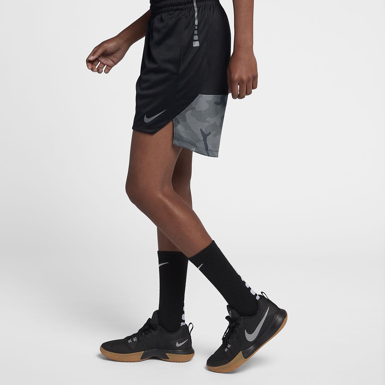 Nike Elite-basketballshorts i maskinstrik til kvinder